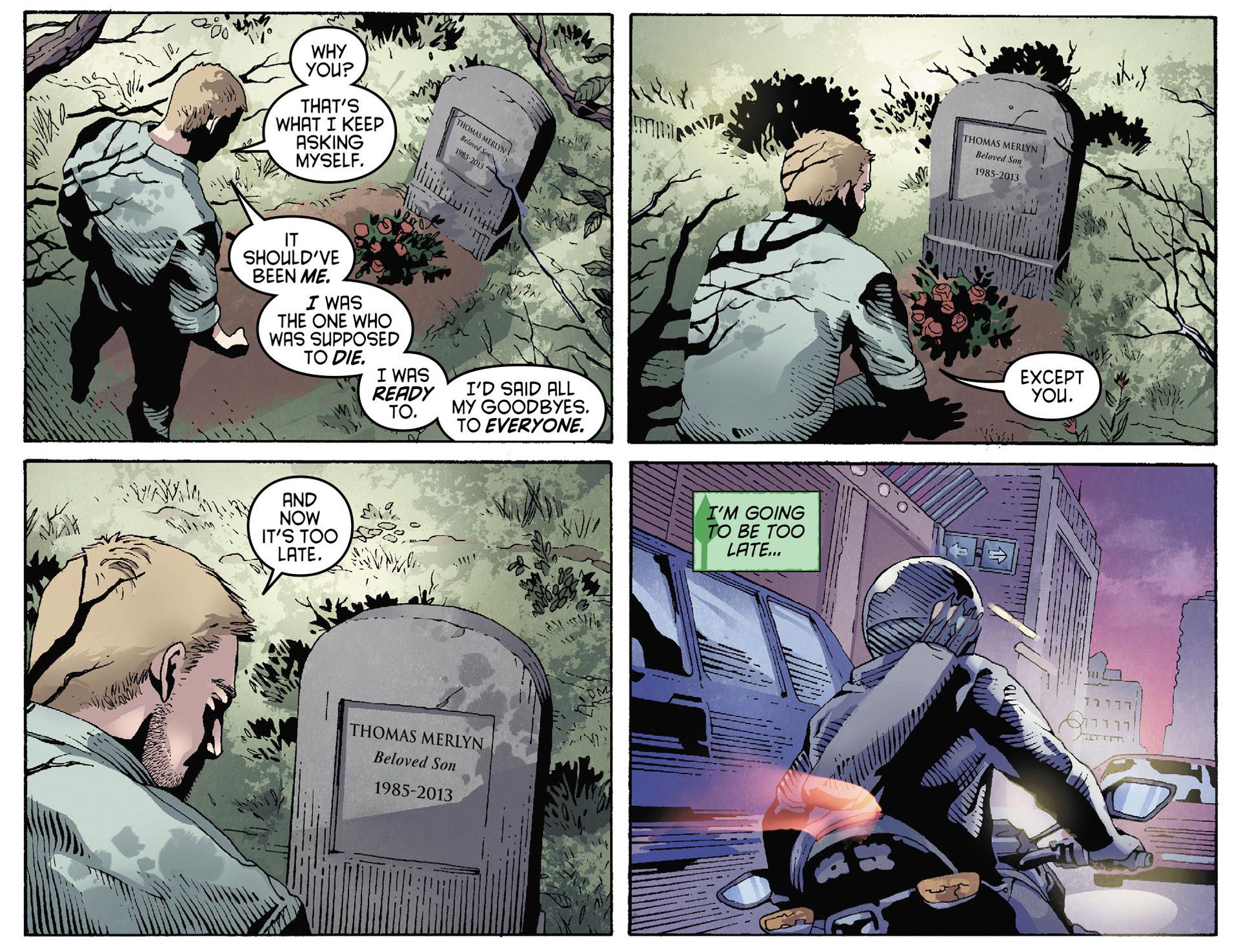 Read online Arrow [II] comic -  Issue #35 - 16