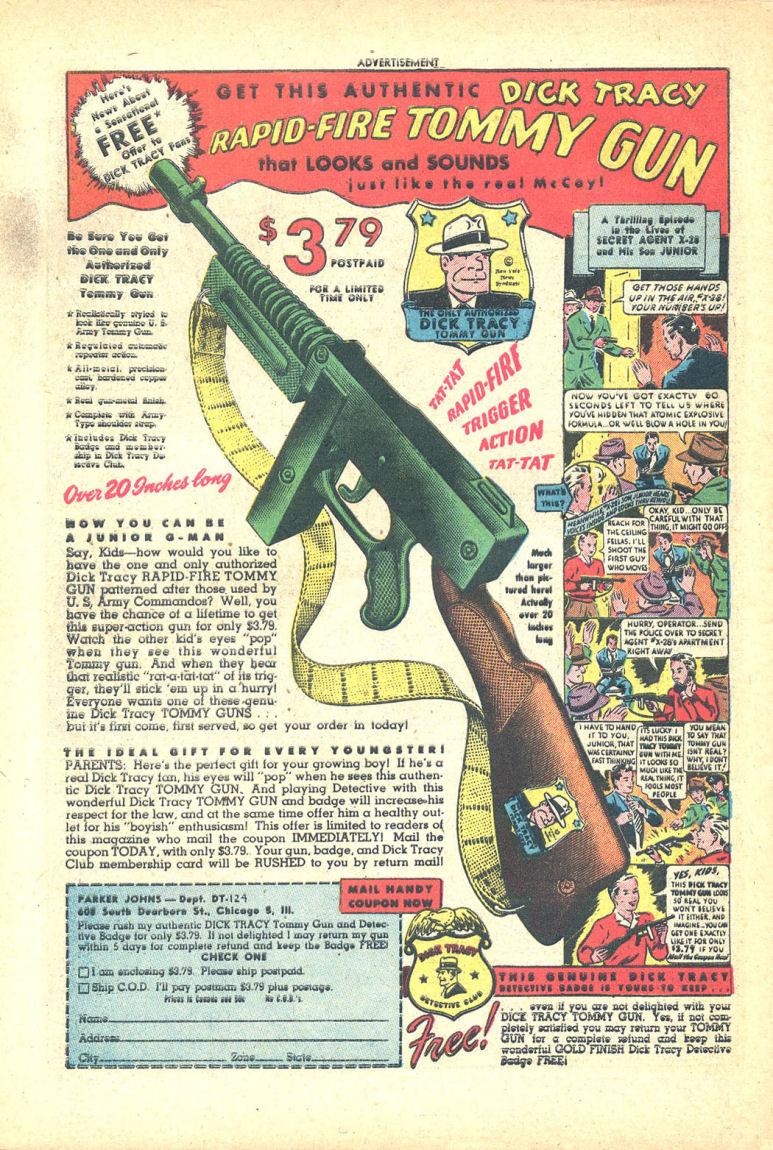 Read online Sensation (Mystery) Comics comic -  Issue #68 - 50