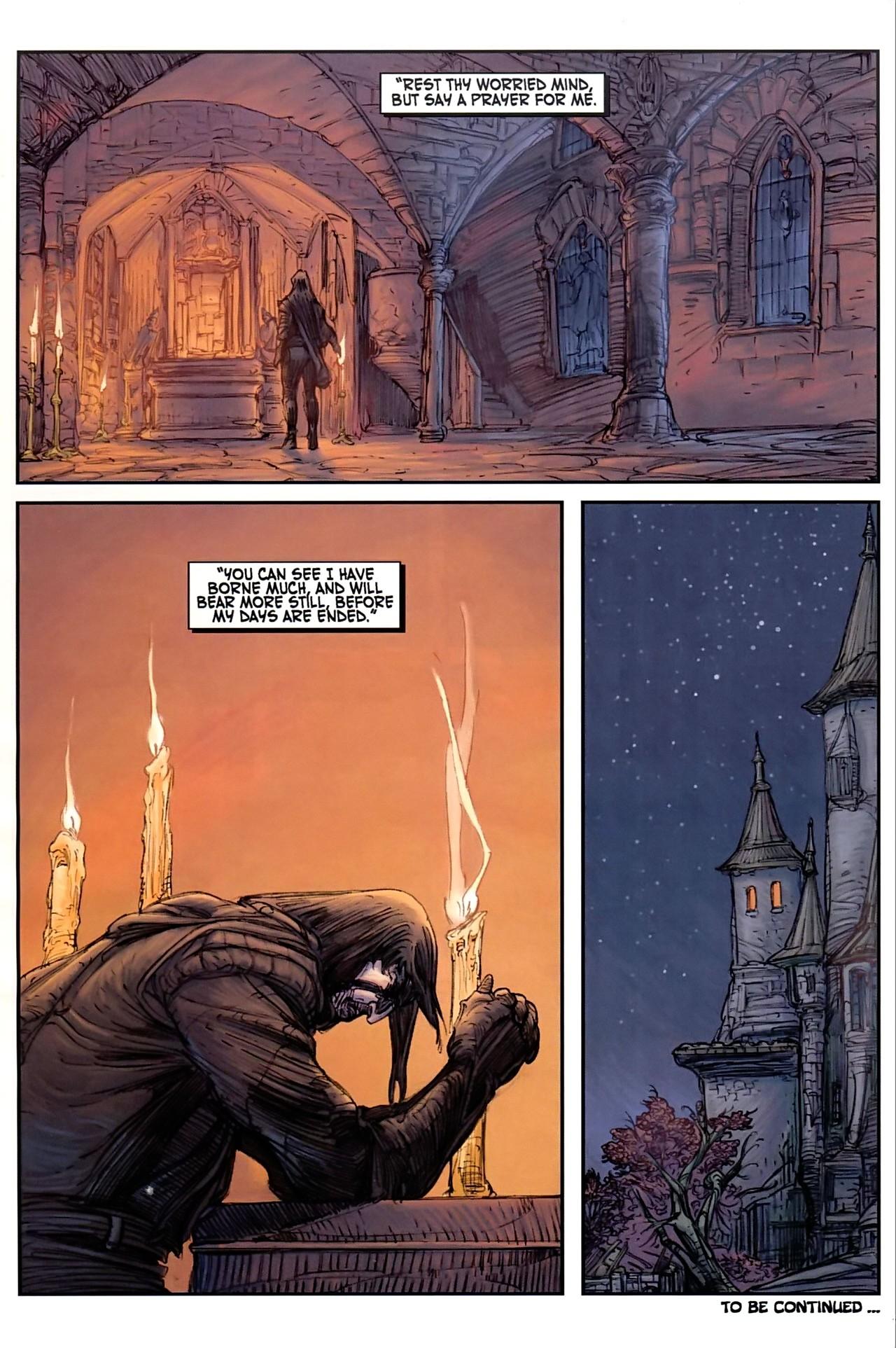 Read online Solomon Kane comic -  Issue #1 - 25