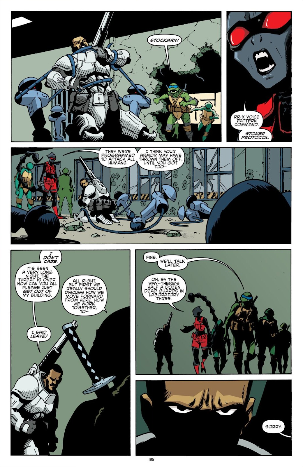 Read online Teenage Mutant Ninja Turtles: The IDW Collection comic -  Issue # TPB 8 (Part 2) - 94