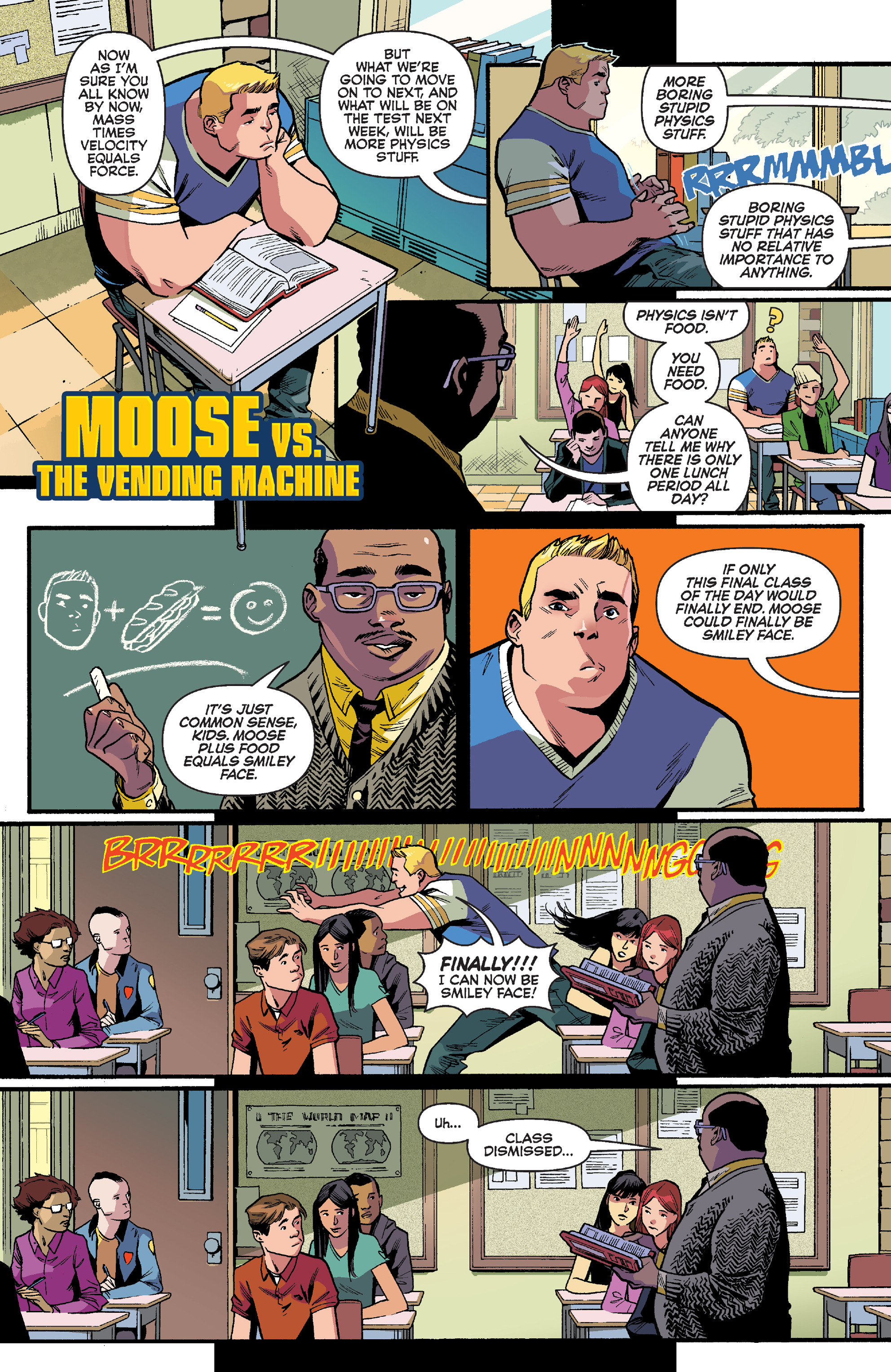 Read online Reggie and Me comic -  Issue #5 - 23