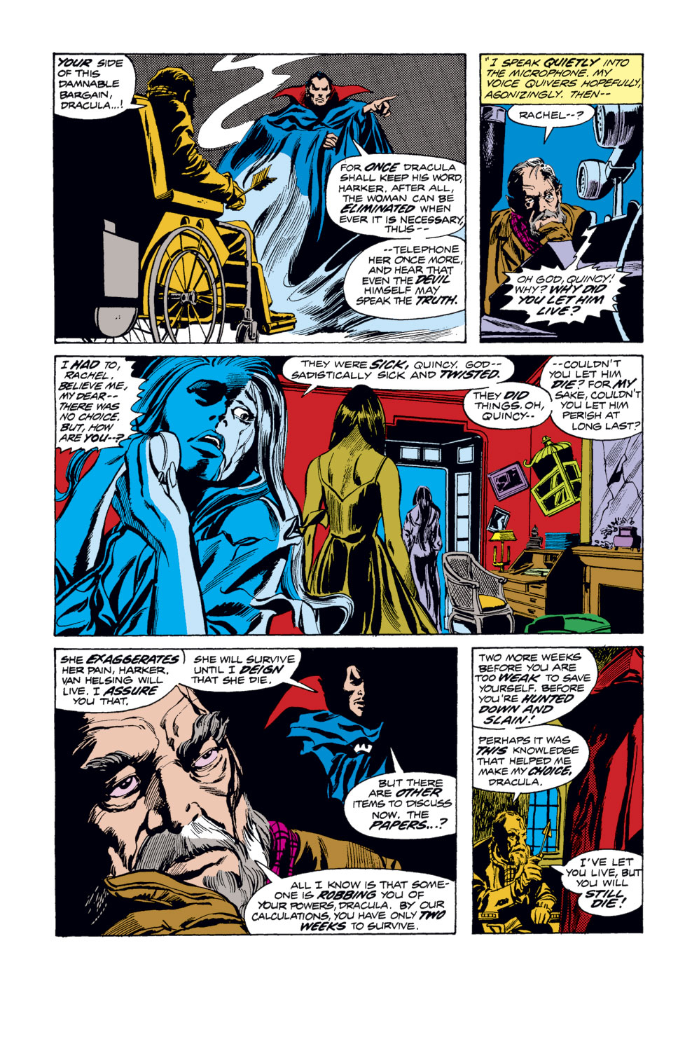 Tomb of Dracula (1972) issue 33 - Page 9
