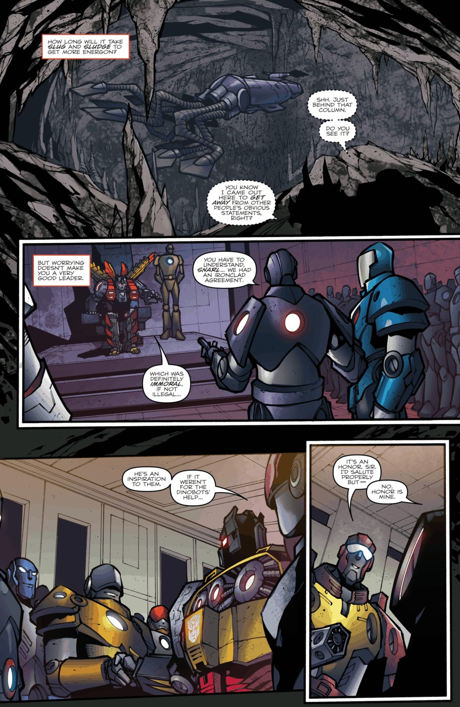 Read online Transformers Prime: Beast Hunters comic -  Issue #5 - 4