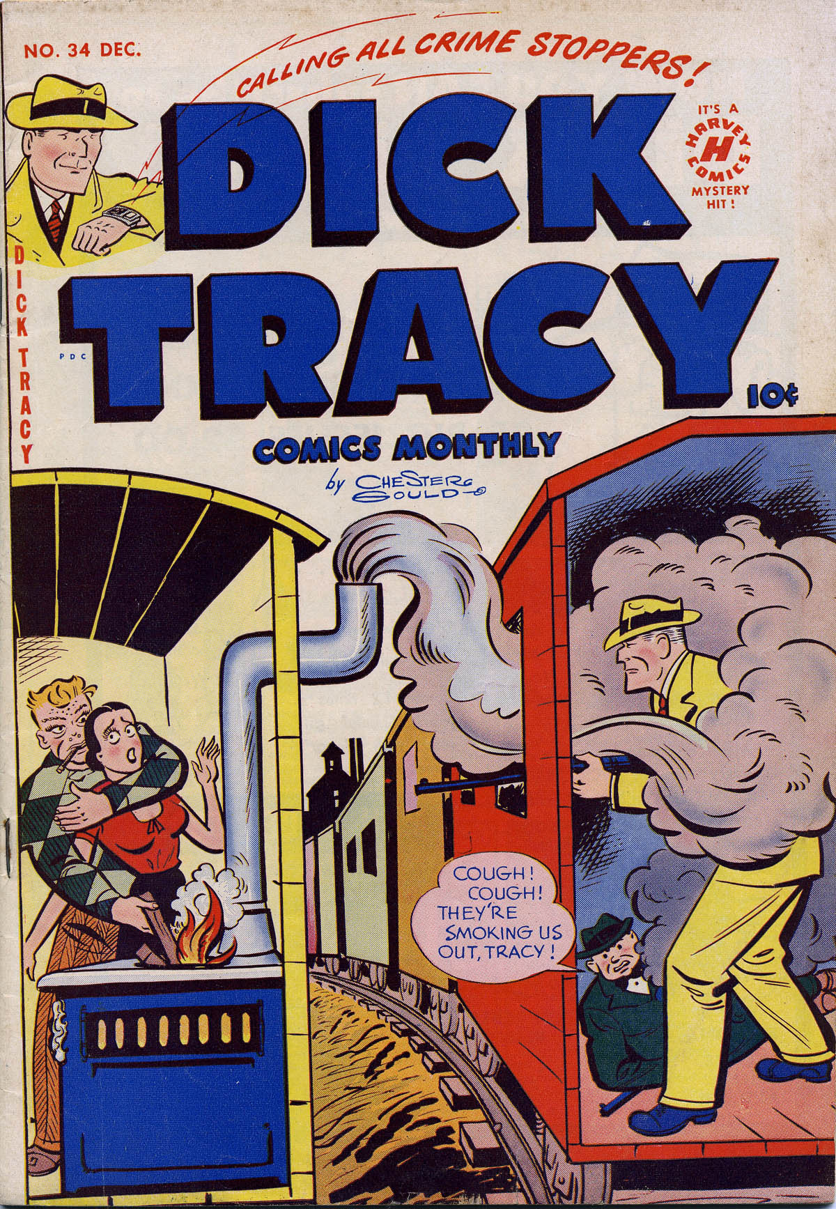 Dick Tracy (1950) 34 Page 1