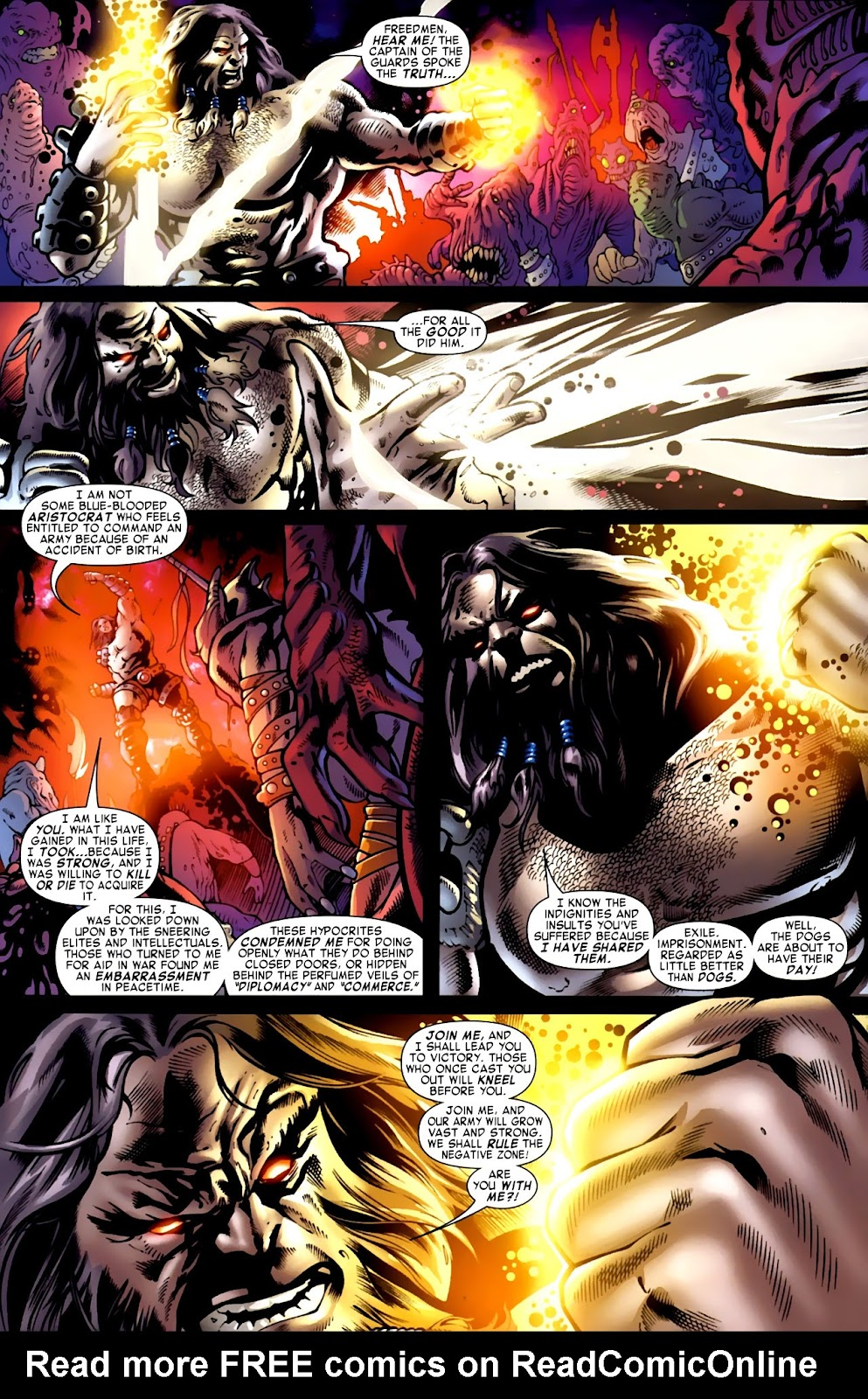 War of Kings: Warriors Issue #1 #1 - English 22
