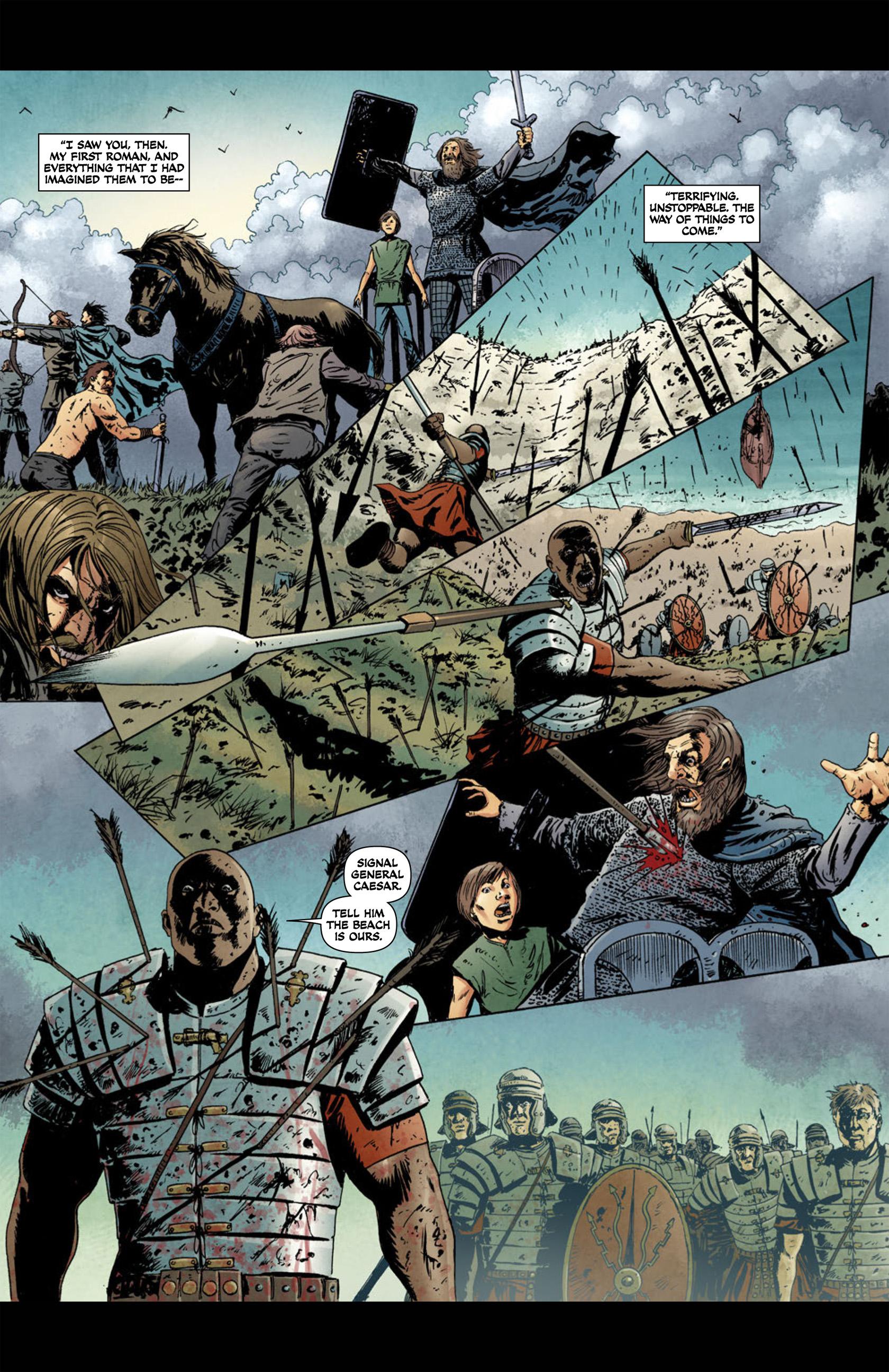 Read online Aquila comic -  Issue #1 - 10