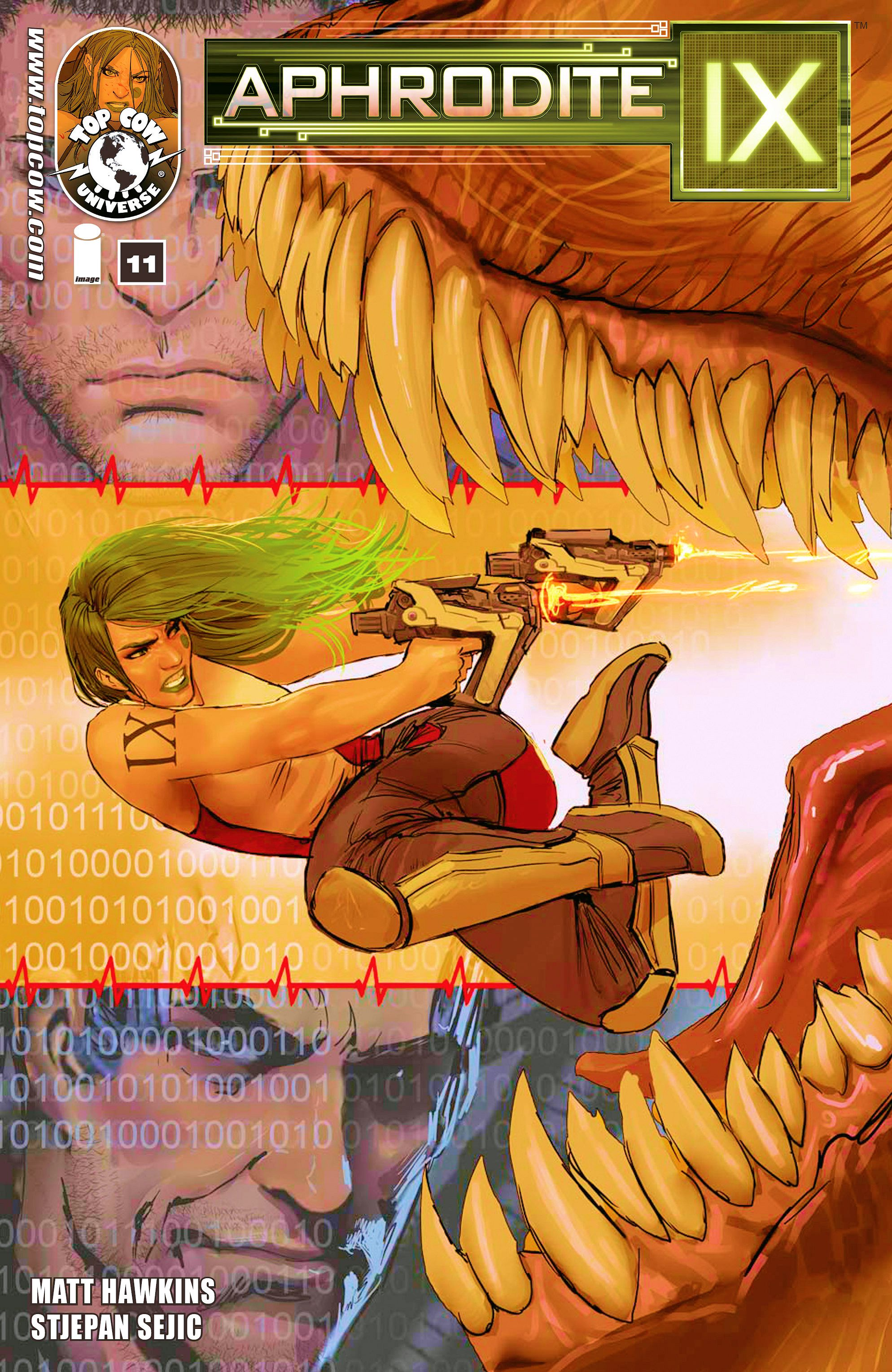 Read online Aphrodite IX (2013) comic -  Issue #11 - 1