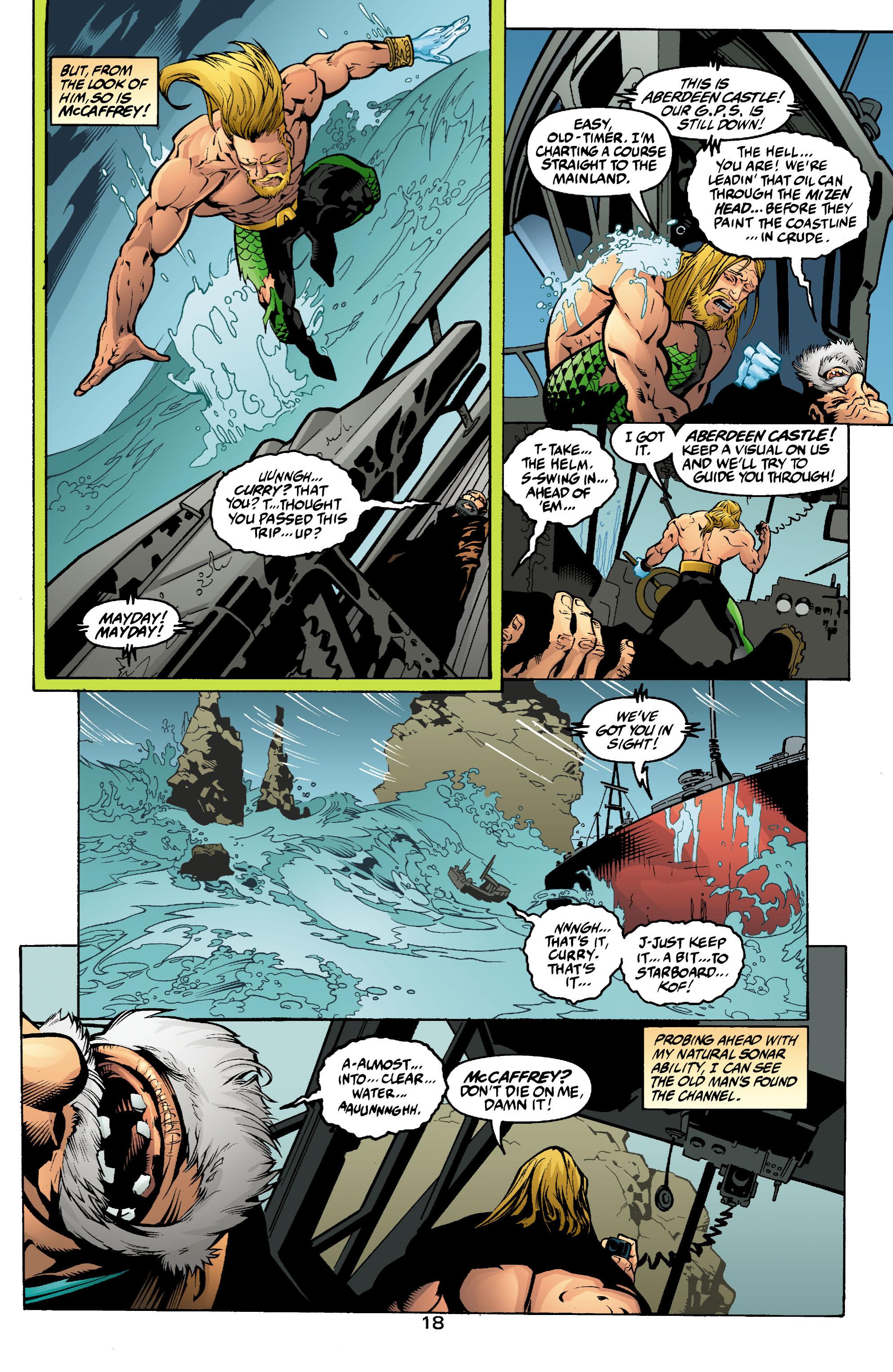 Read online Aquaman (2003) comic -  Issue #2 - 19