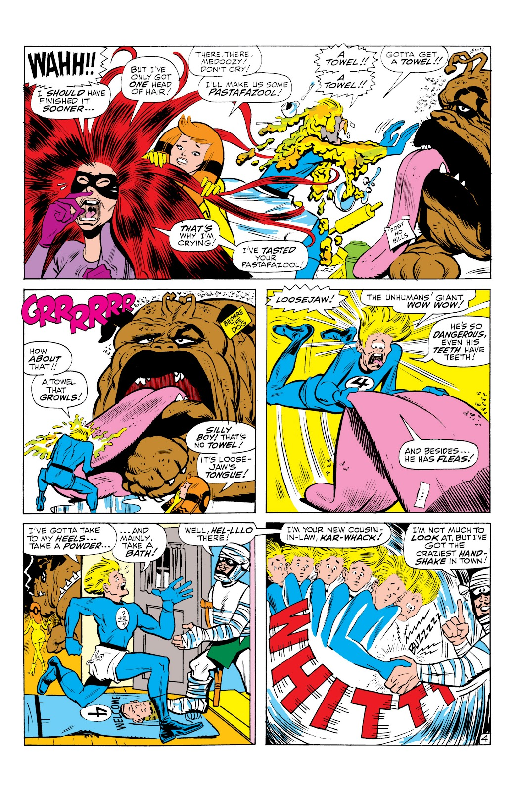 Read online Marvel Masterworks: The Inhumans comic -  Issue # TPB 1 (Part 3) - 21