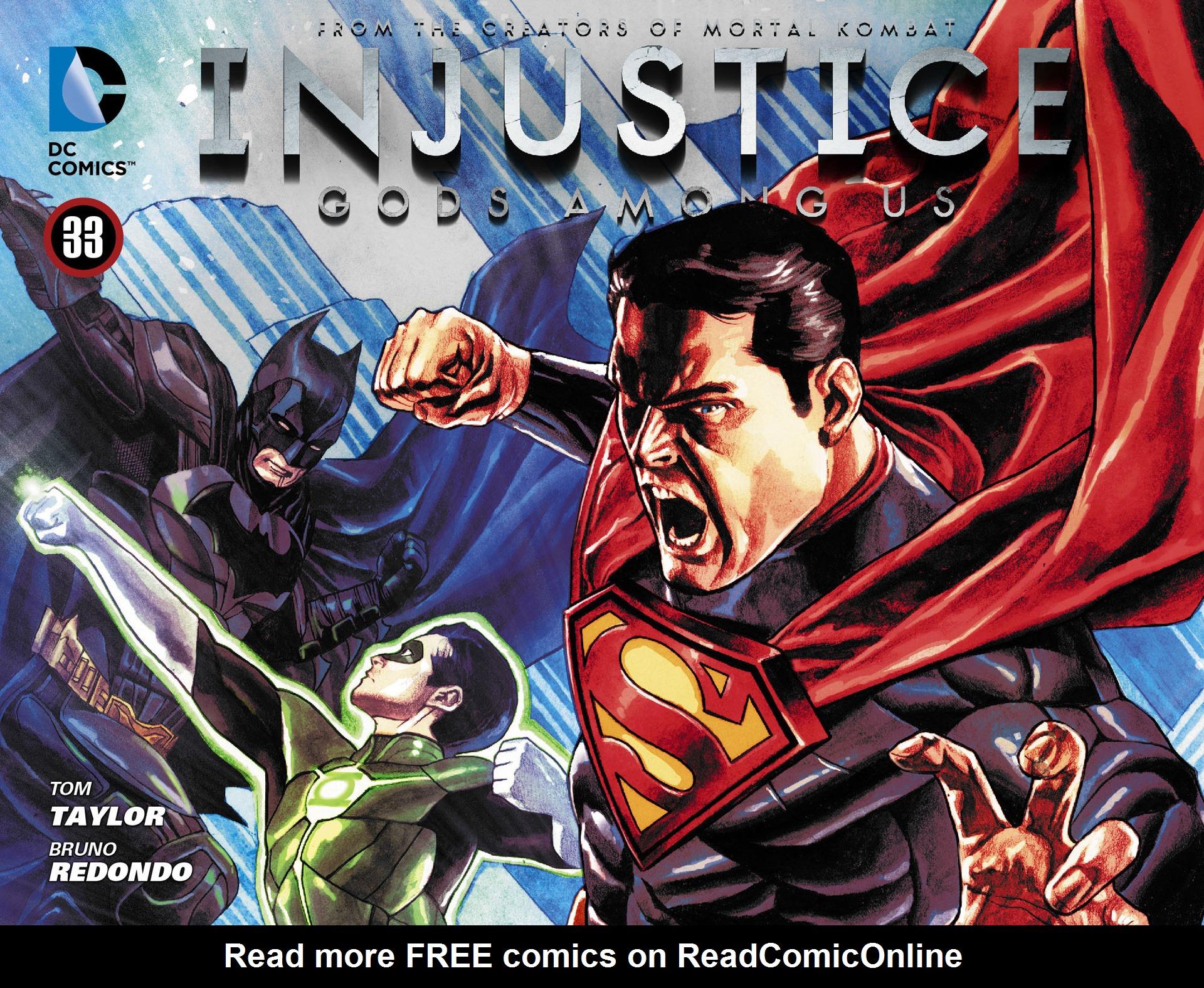Injustice: Gods Among Us [I] 33 Page 1