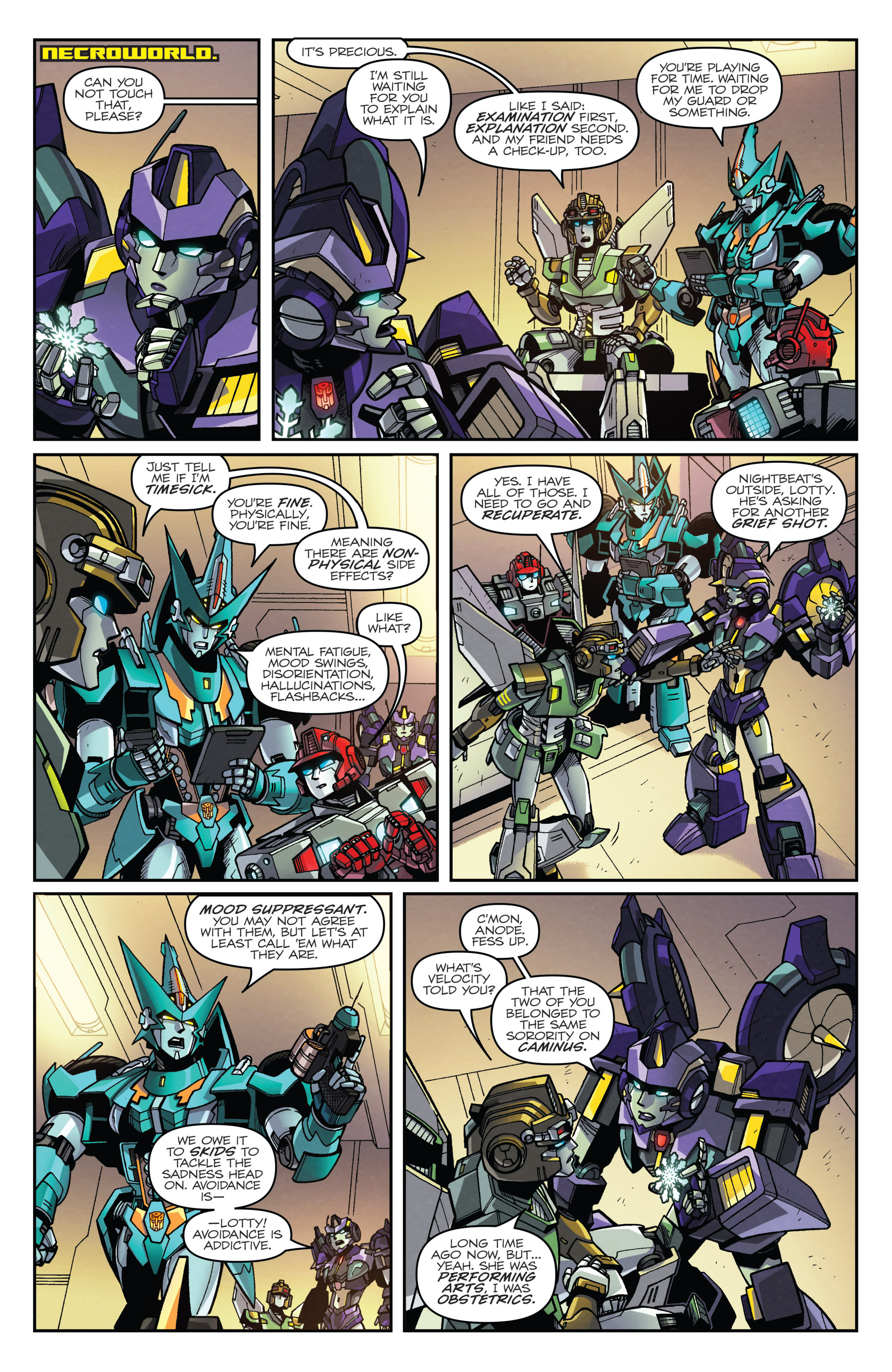 Read online Transformers: Lost Light comic -  Issue #3 - 14