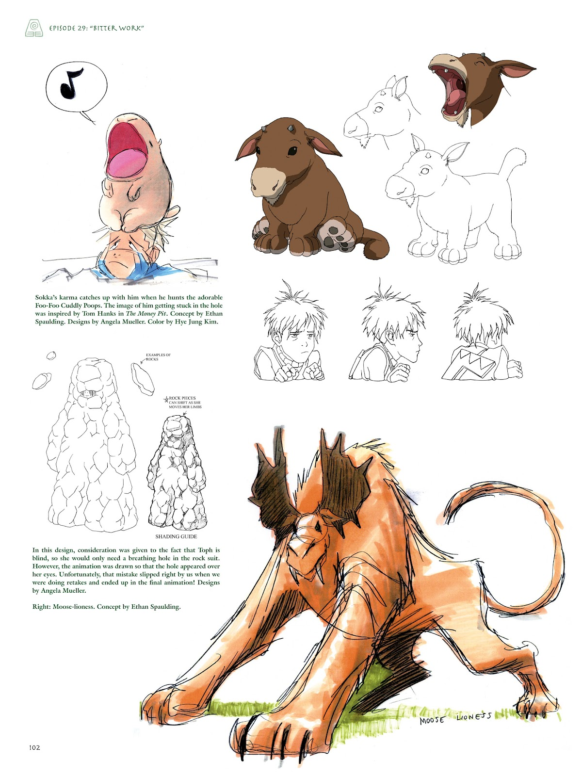 Read online Avatar: The Last Airbender - The Art of the Animated Series comic -  Issue # TPB (Part 2) - 1