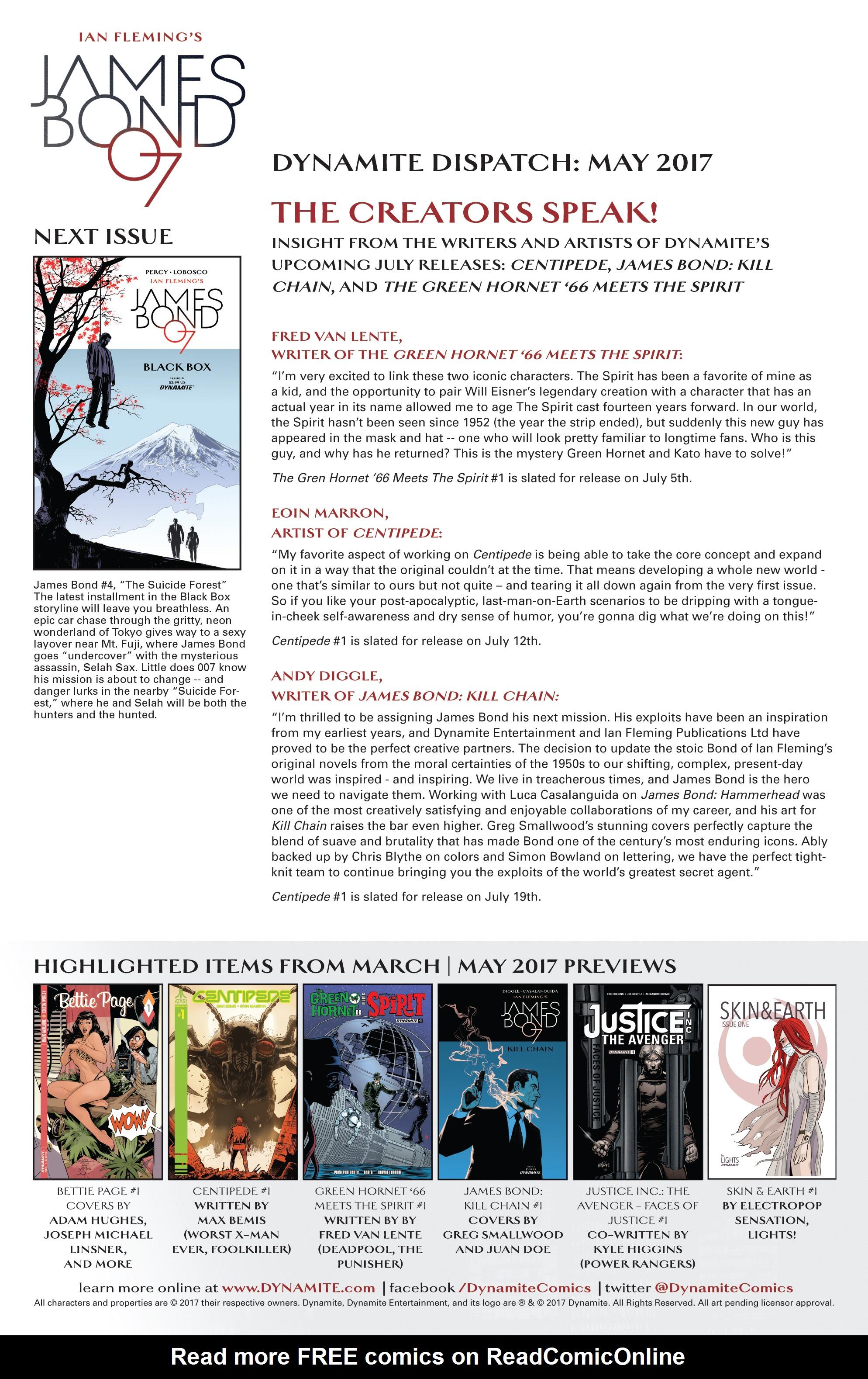 Read online James Bond (2017) comic -  Issue #3 - 24