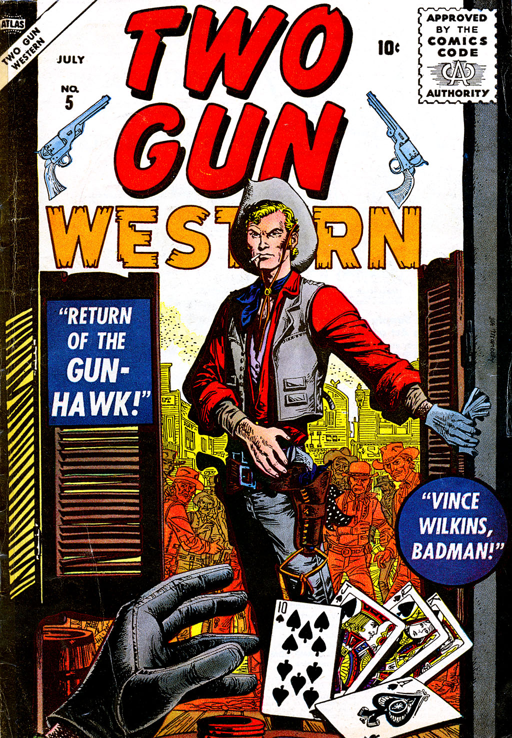 Two Gun Western (1956) issue 5 - Page 1