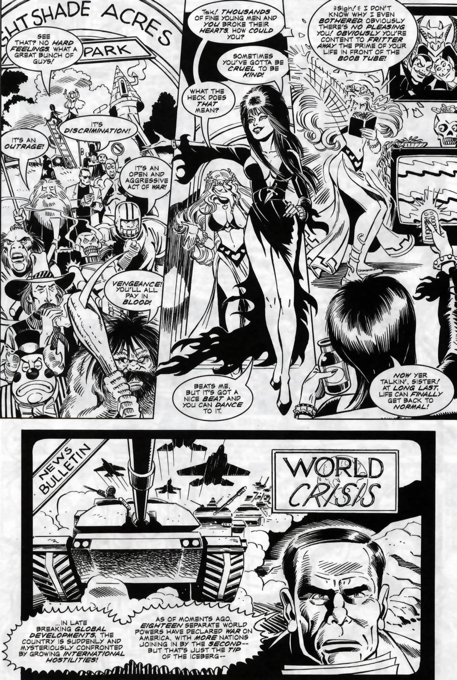 Read online Elvira, Mistress of the Dark comic -  Issue #118 - 18