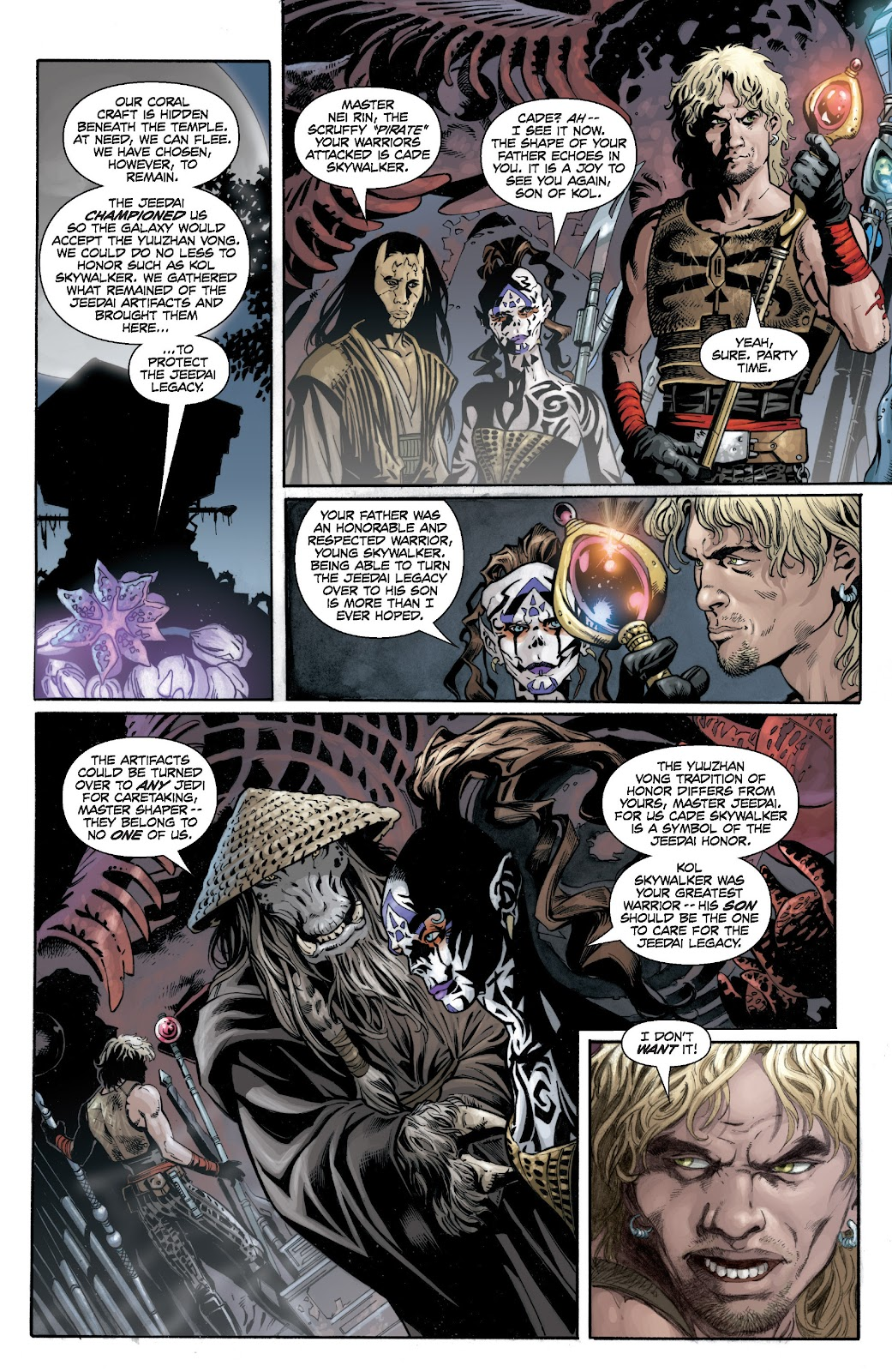 Read online Star Wars Legends: Legacy - Epic Collection comic -  Issue # TPB 1 (Part 4) - 1