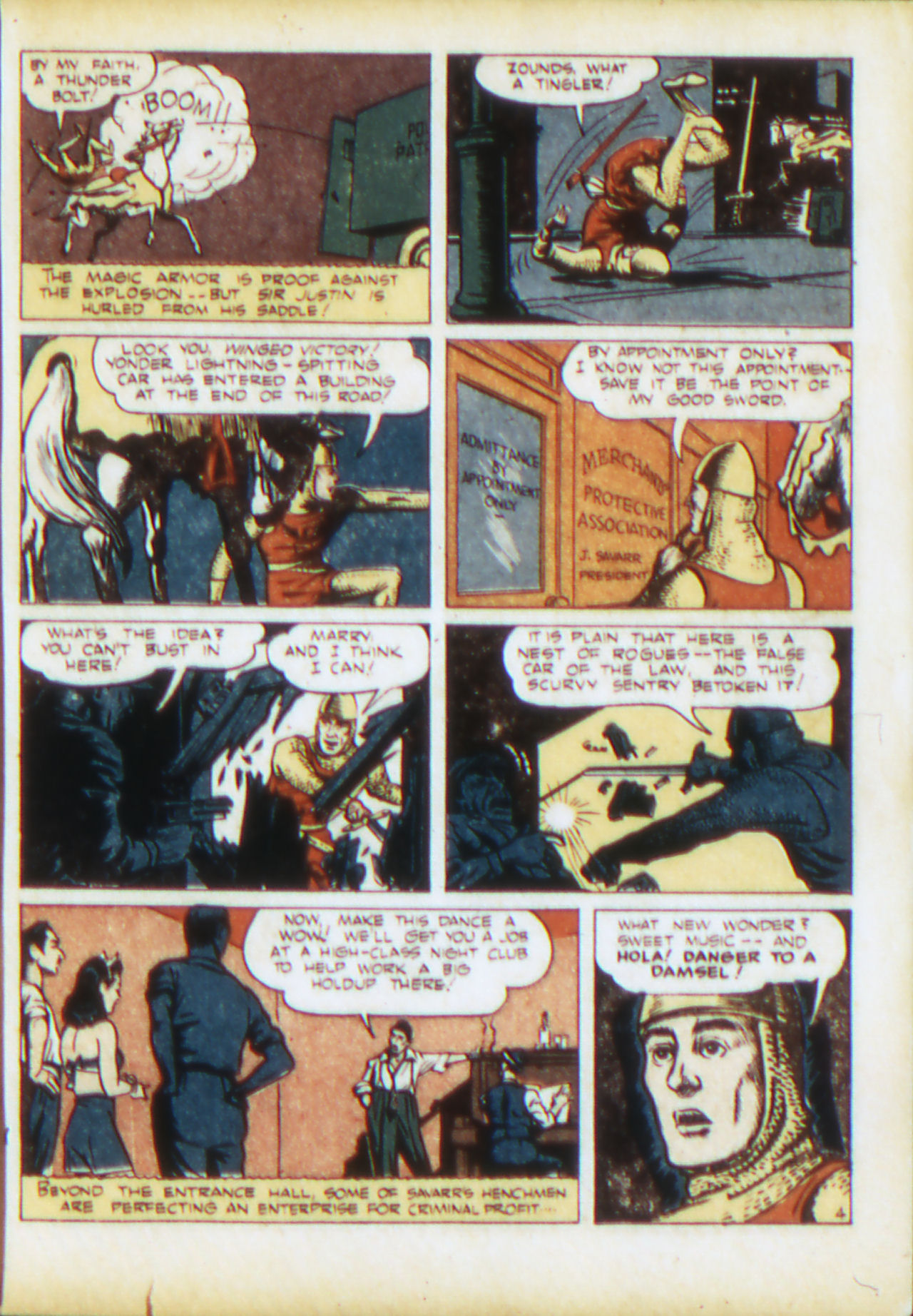 Read online Adventure Comics (1938) comic -  Issue #71 - 22