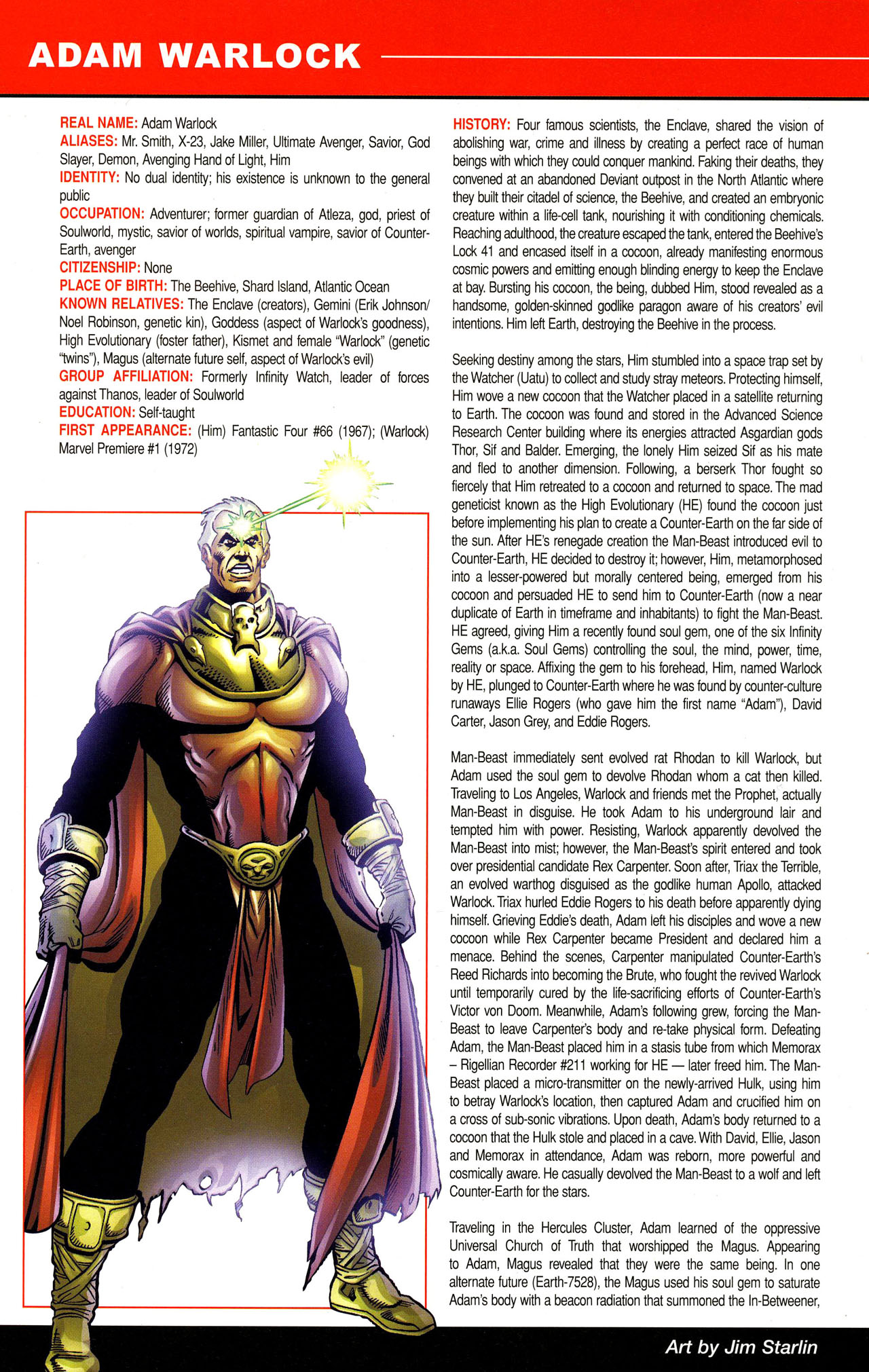 Read online All-New Official Handbook of the Marvel Universe A to Z comic -  Issue #12 - 28
