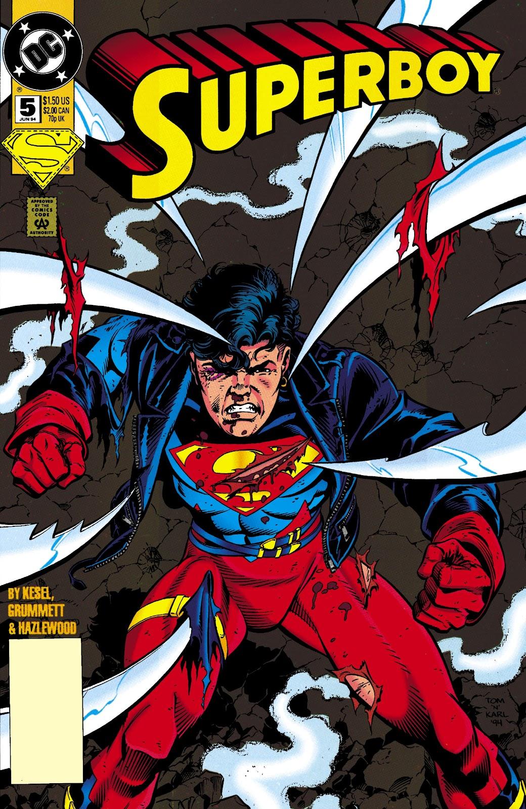 Superboy (1994) 5 Page 1