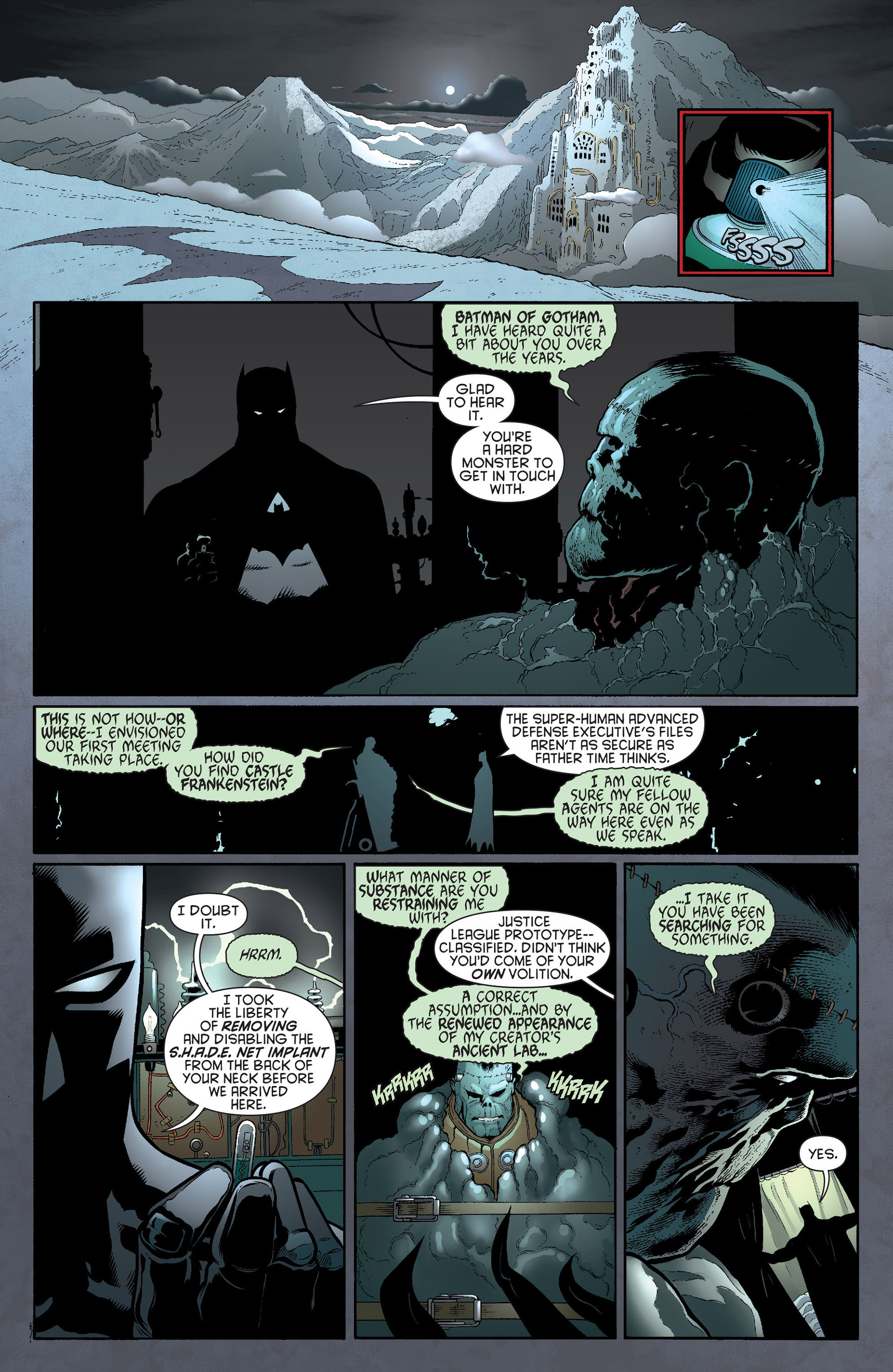Read online Batman and Robin (2011) comic -  Issue #19 - 10
