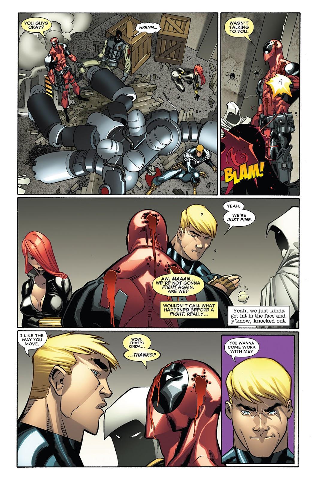 Read online Deadpool (2008) comic -  Issue #27 - 22