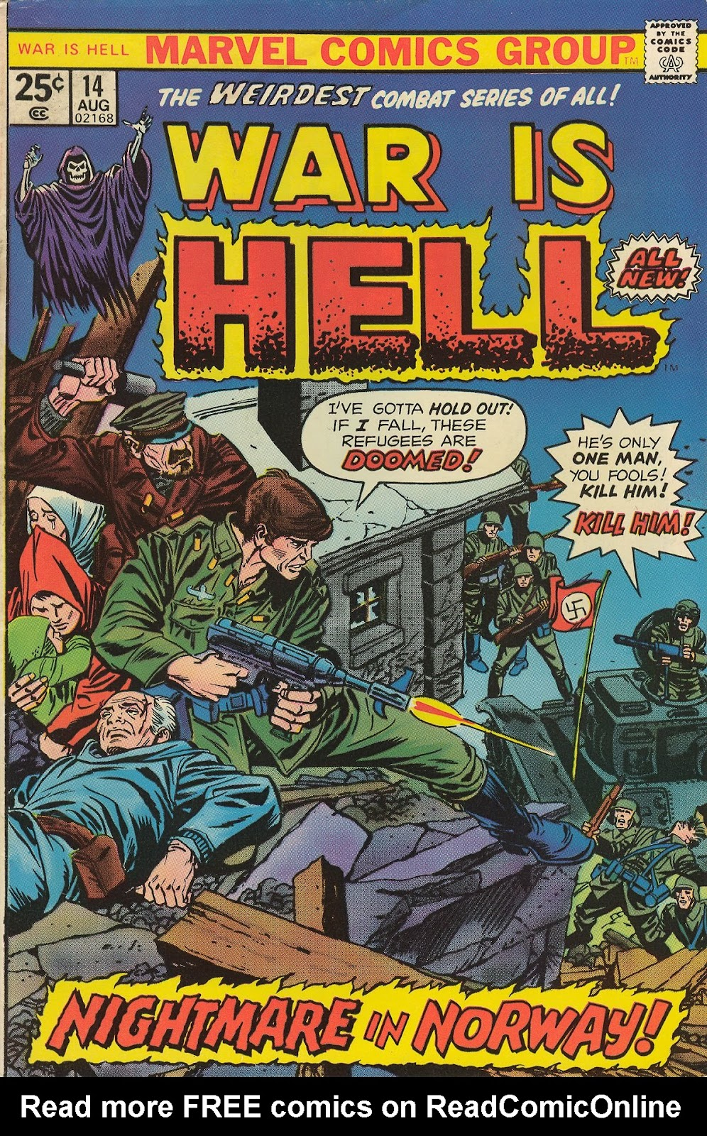 War Is Hell (1973) issue 14 - Page 1