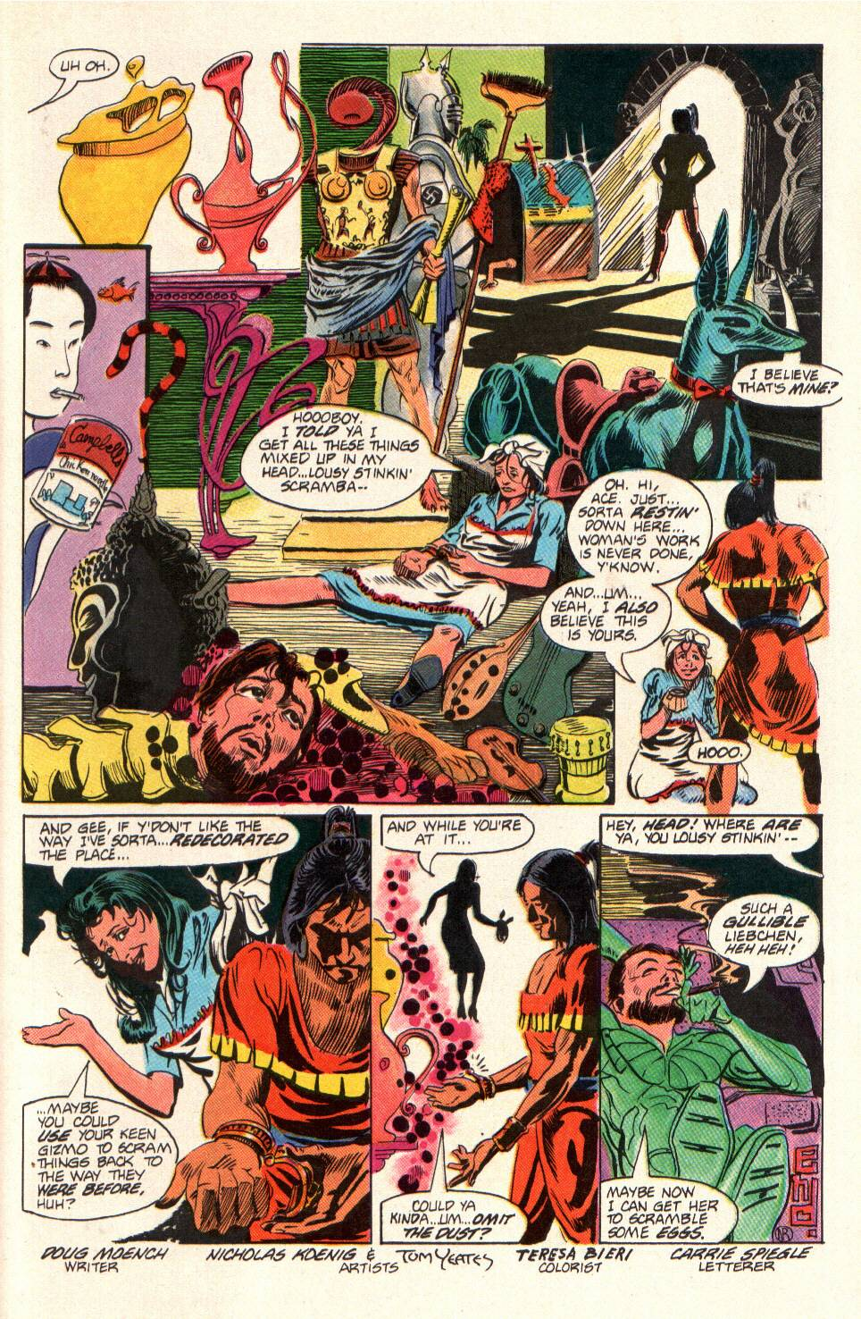 Read online Aztec Ace comic -  Issue #10 - 24