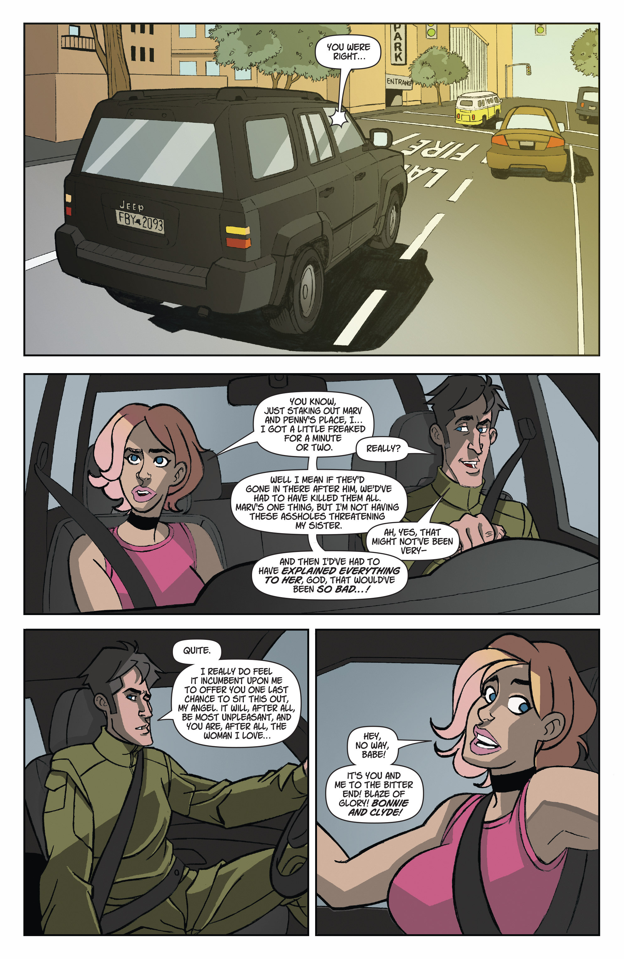 Read online A Train Called Love comic -  Issue #8 - 23
