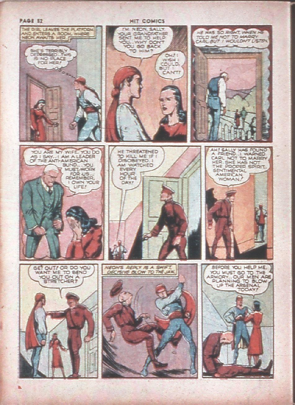 Read online Hit Comics comic -  Issue #8 - 54