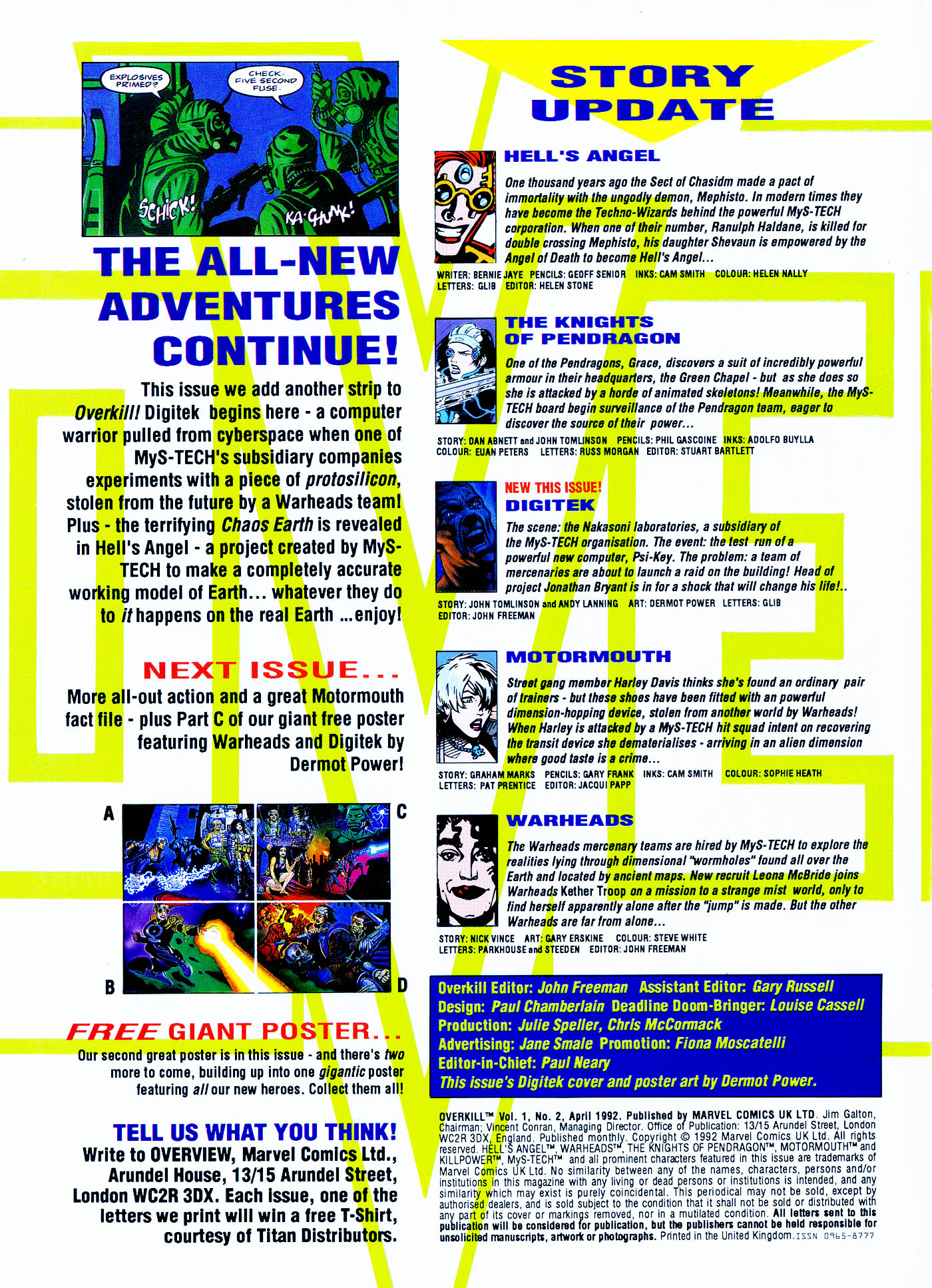 Read online Overkill comic -  Issue #2 - 2