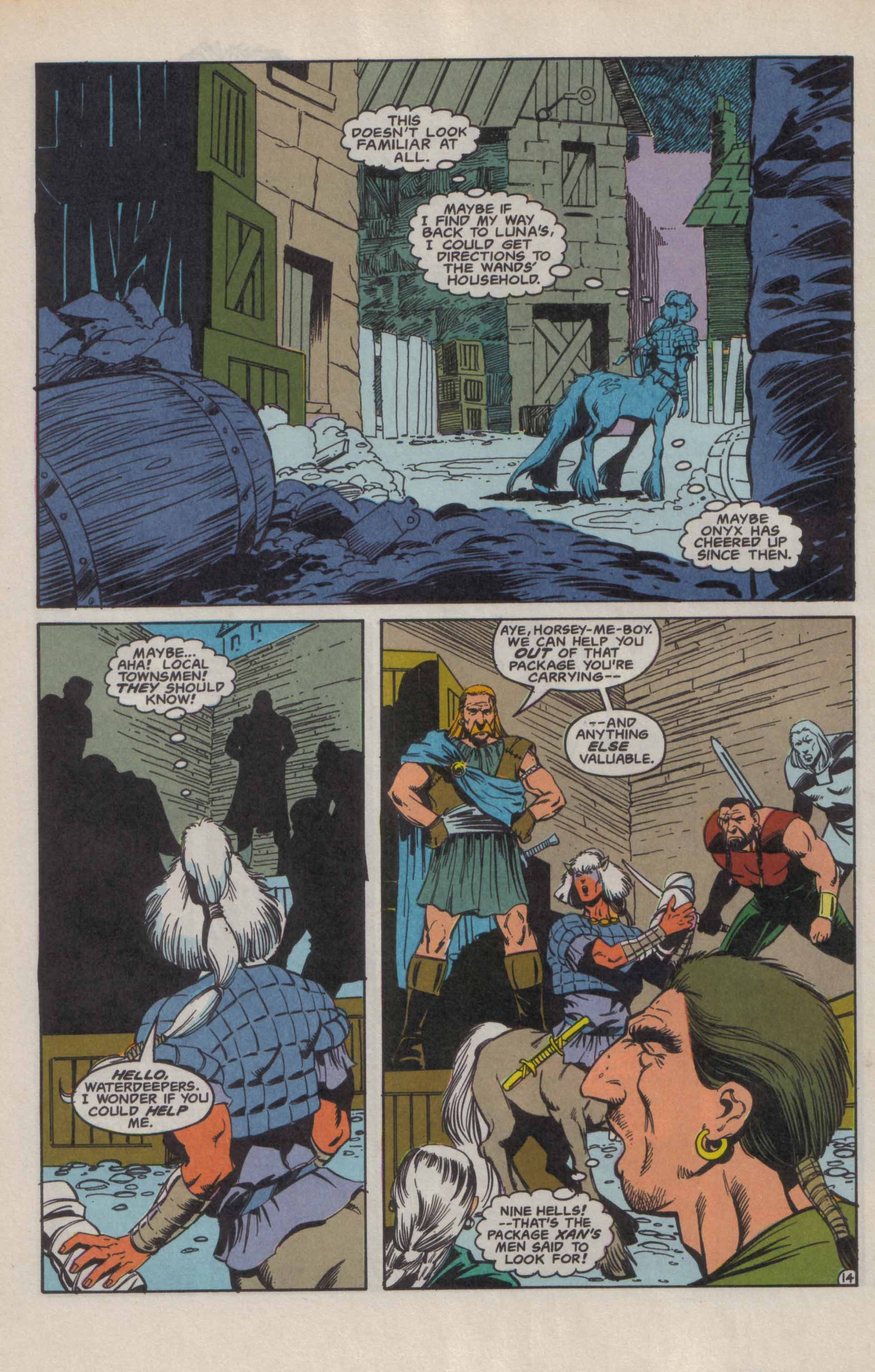 Read online Advanced Dungeons & Dragons comic -  Issue #9 - 15