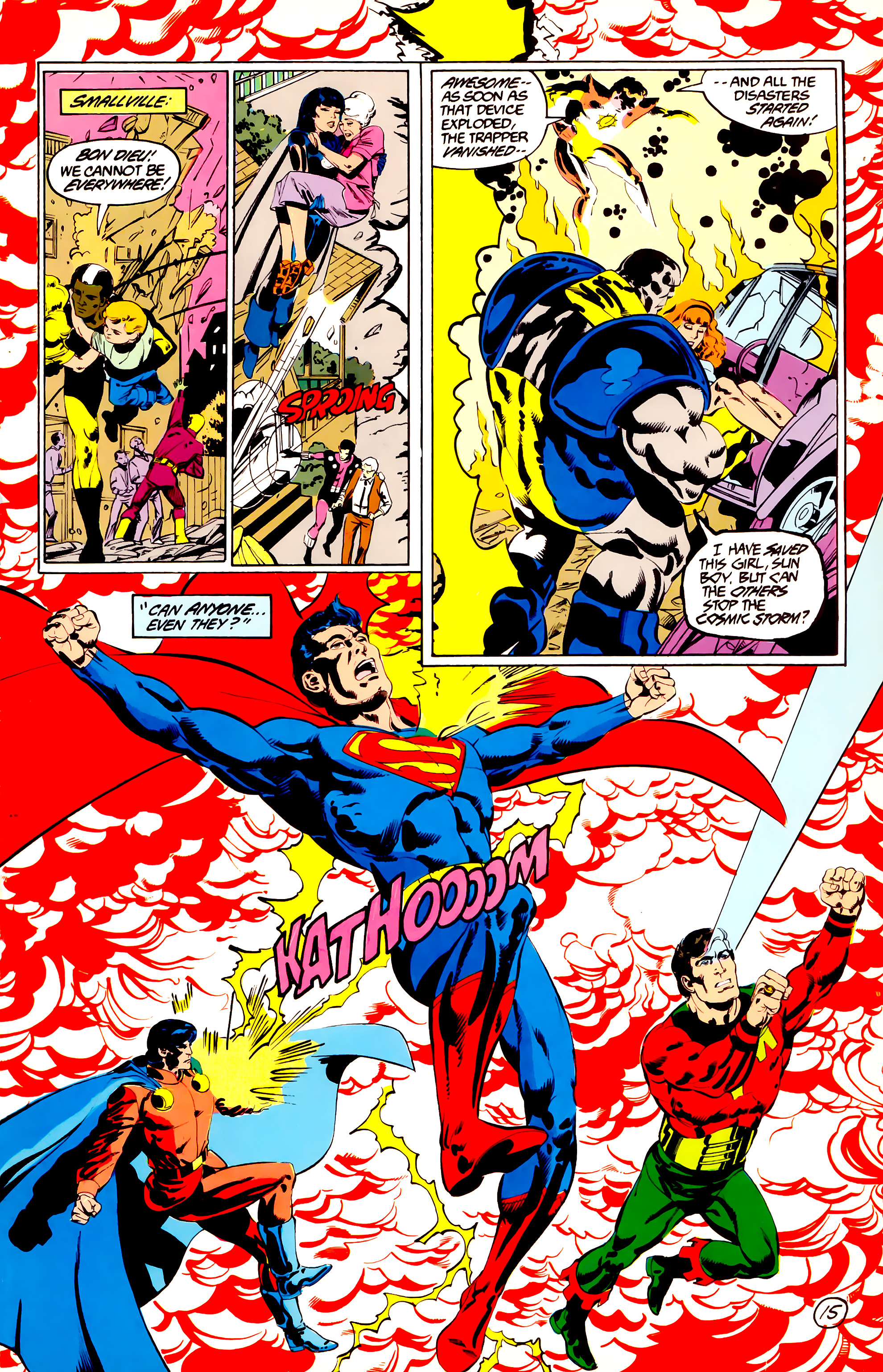 Legion of Super-Heroes (1984) 38 Page 15