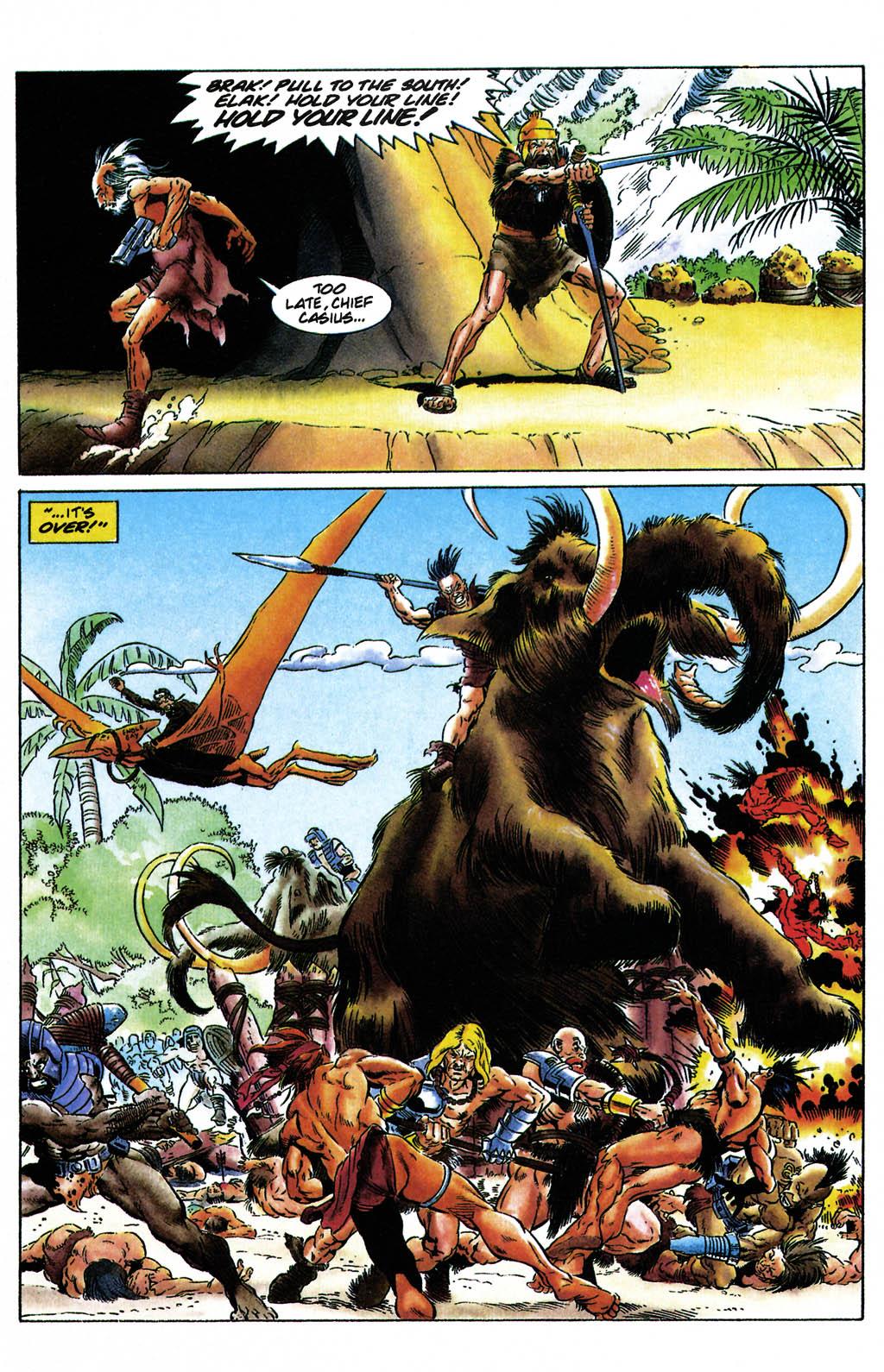 Read online Turok, Dinosaur Hunter (1993) comic -  Issue #24 - 16