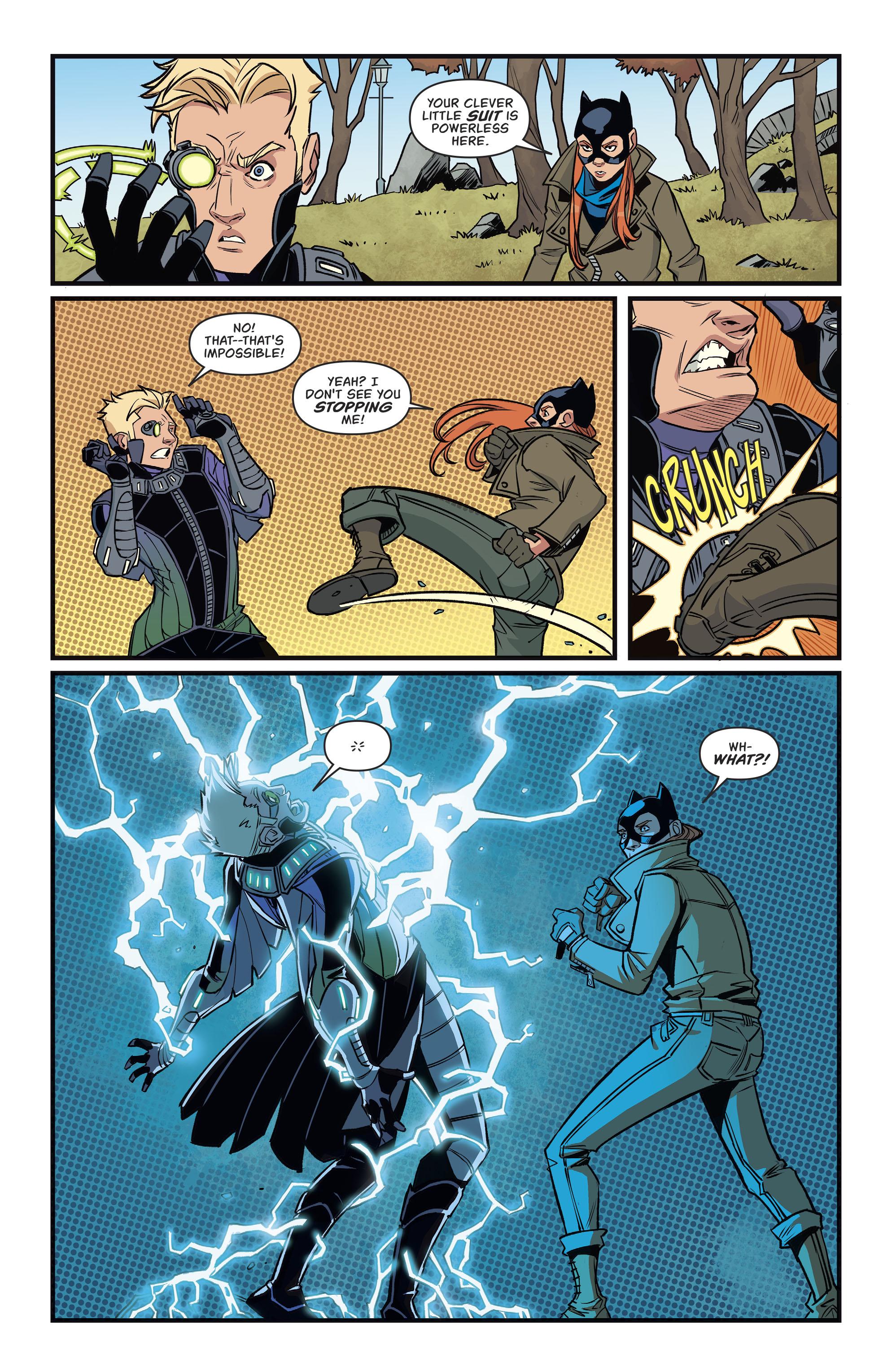 Read online Batgirl (2016) comic -  Issue #11 - 19