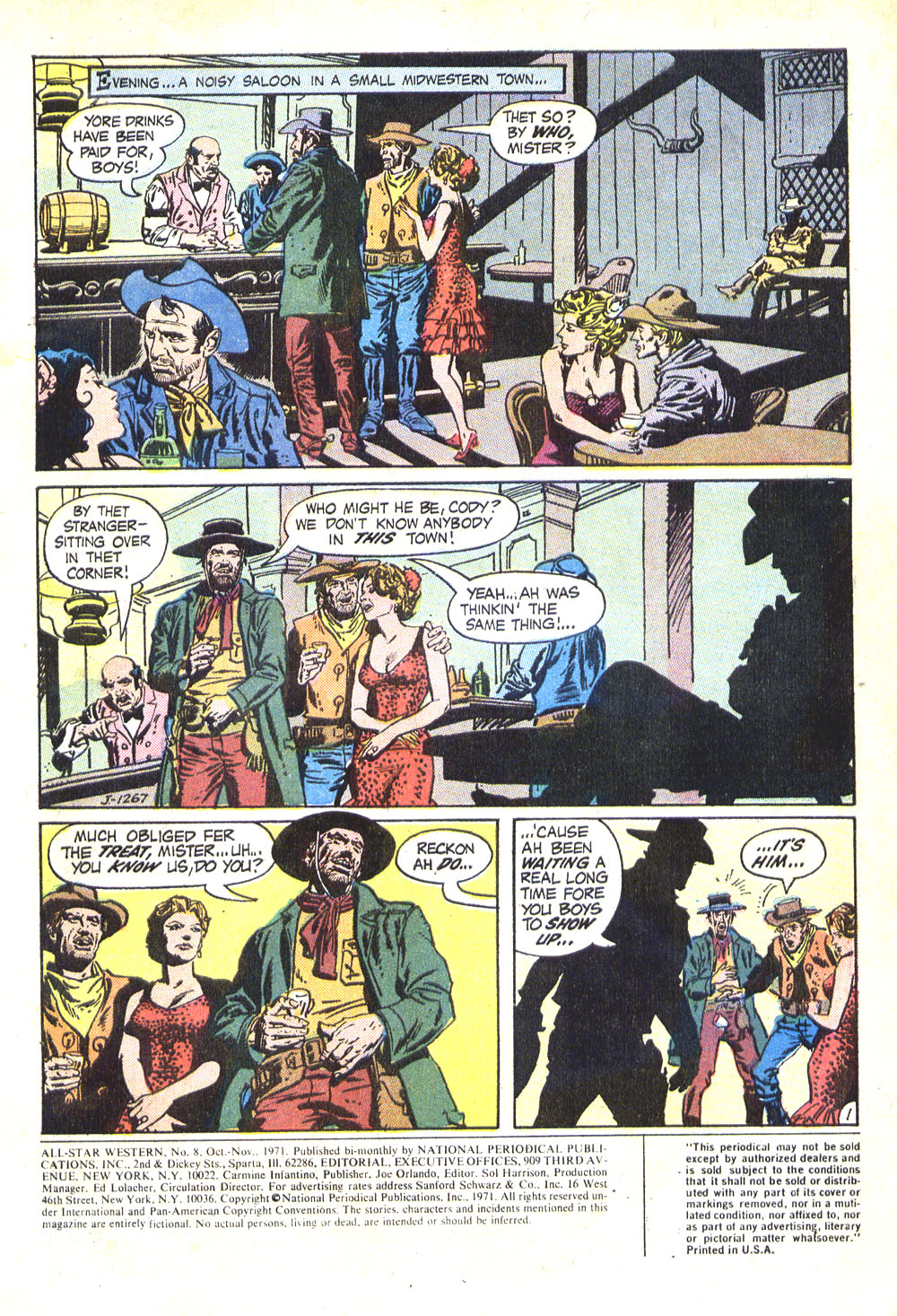 Read online All-Star Western (1970) comic -  Issue #8 - 3