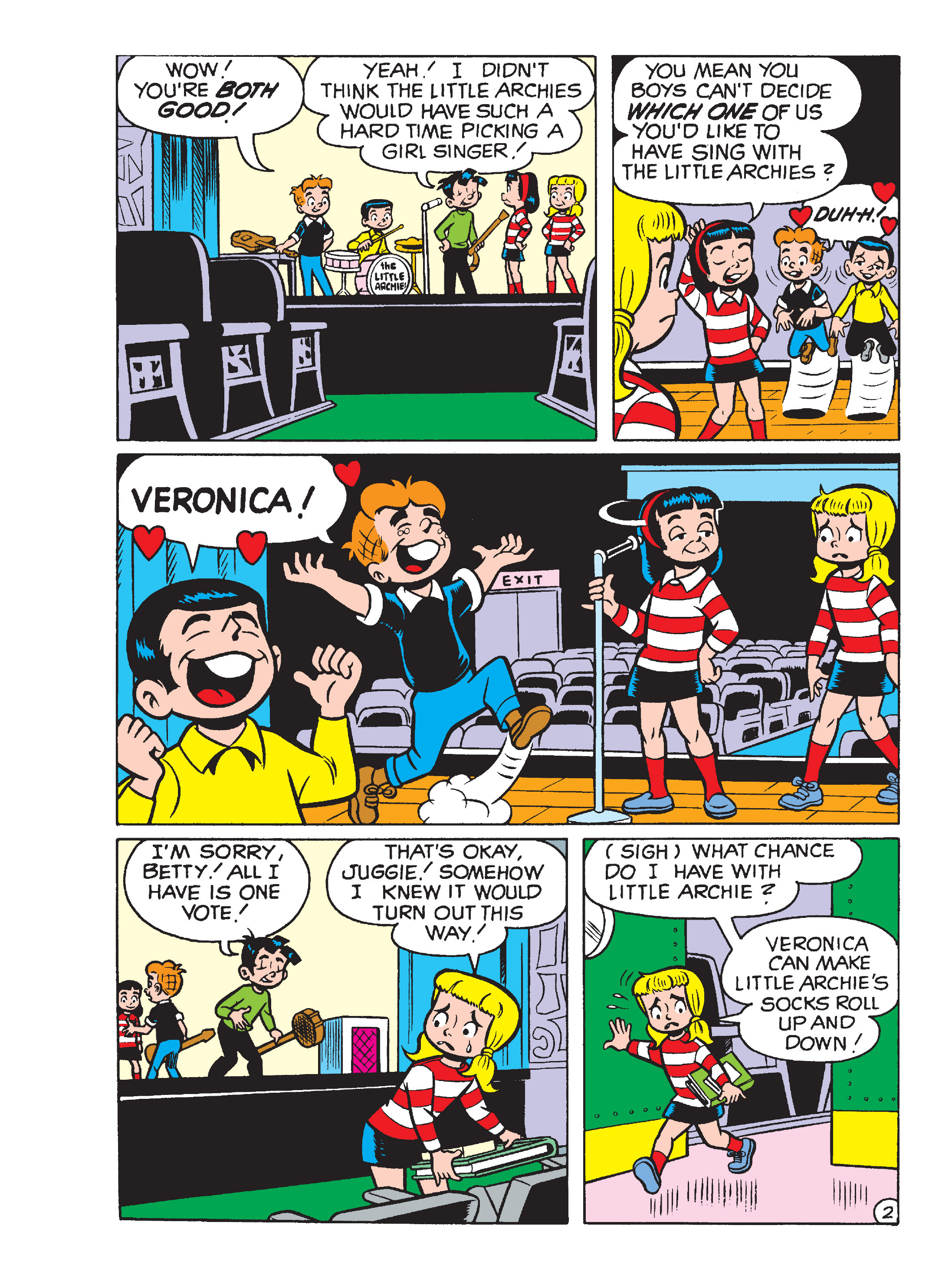 Read online Archie's Funhouse Double Digest comic -  Issue #15 - 250