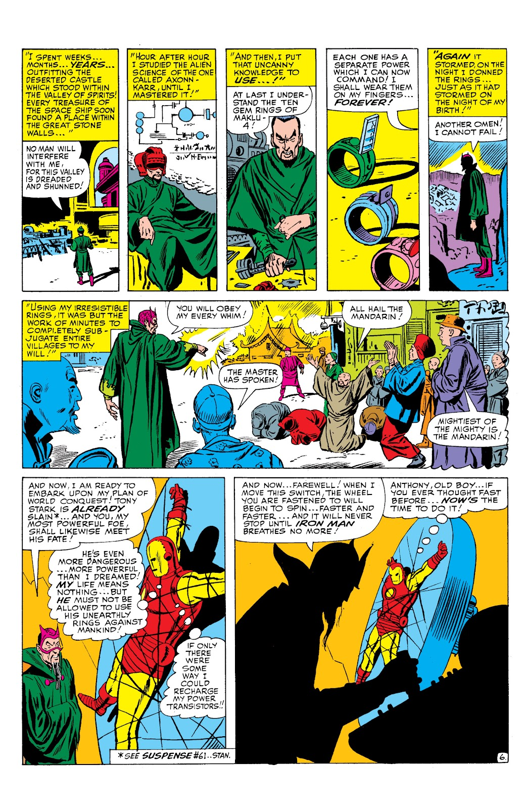 Read online Marvel Masterworks: The Invincible Iron Man comic -  Issue # TPB 2 (Part 2) - 92