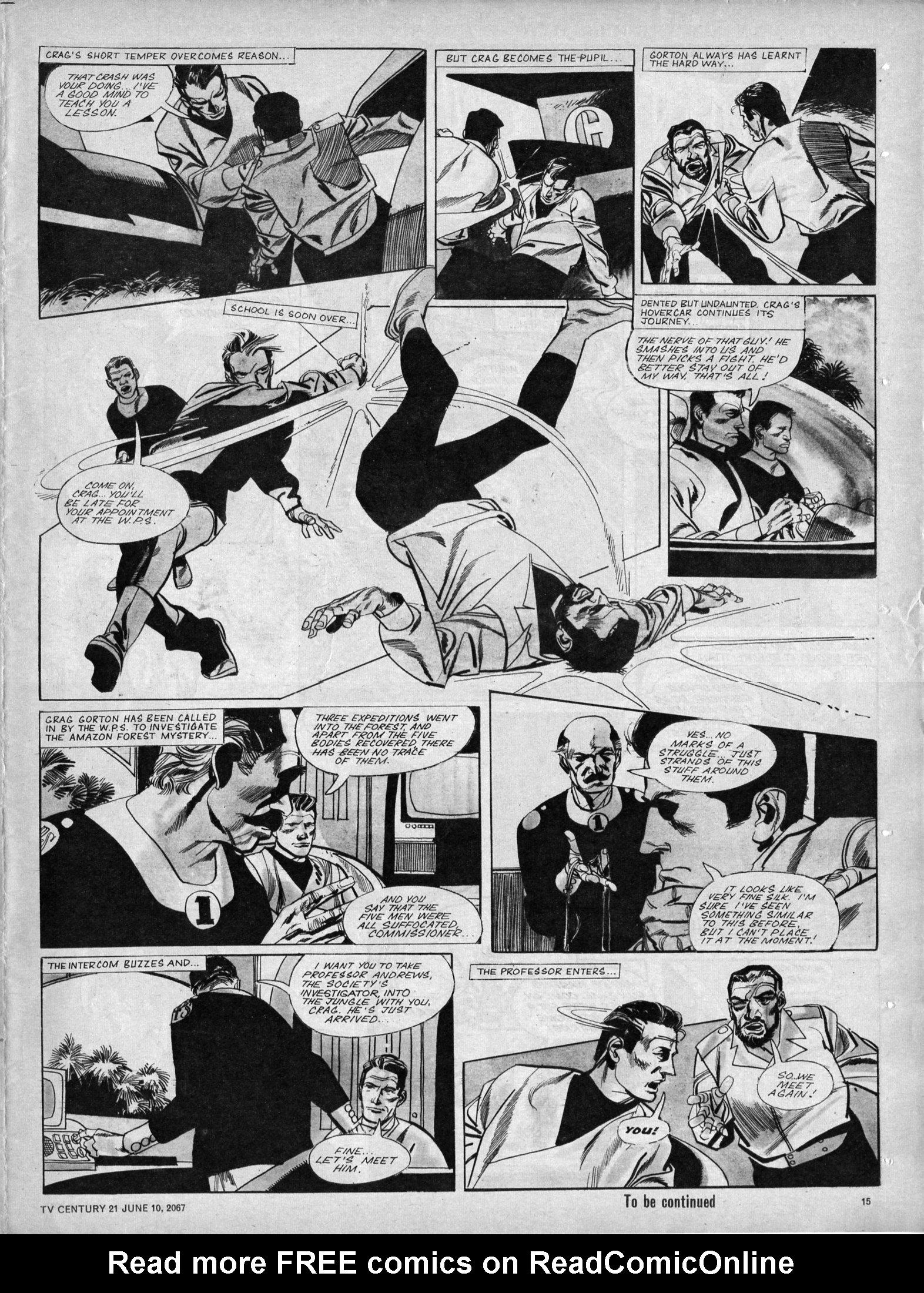 Read online TV Century 21 (TV 21) comic -  Issue #125 - 14