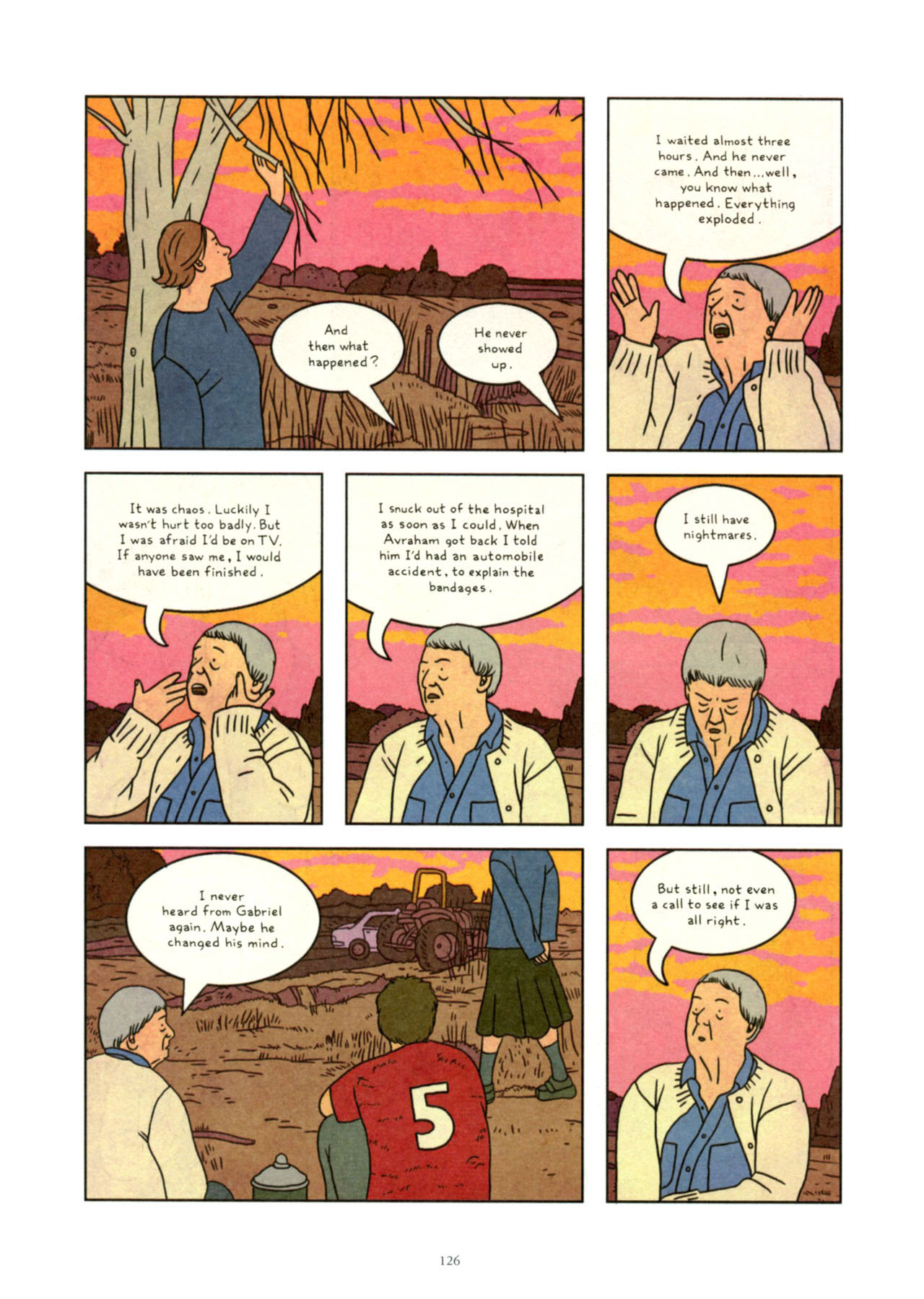 Read online Exit Wounds comic -  Issue # TPB - 126