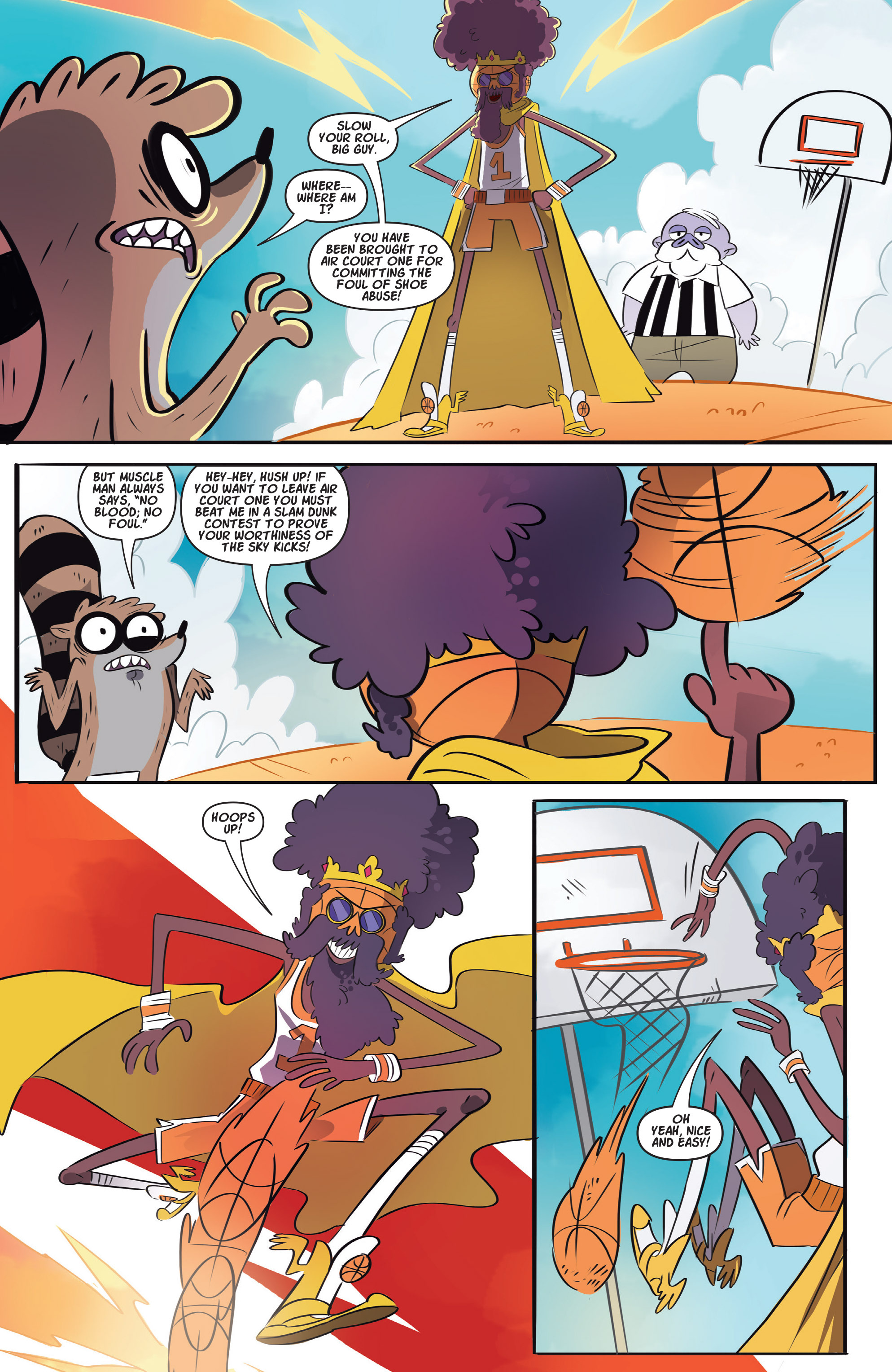 Read online Regular Show comic -  Issue # _Annual 1 - 6