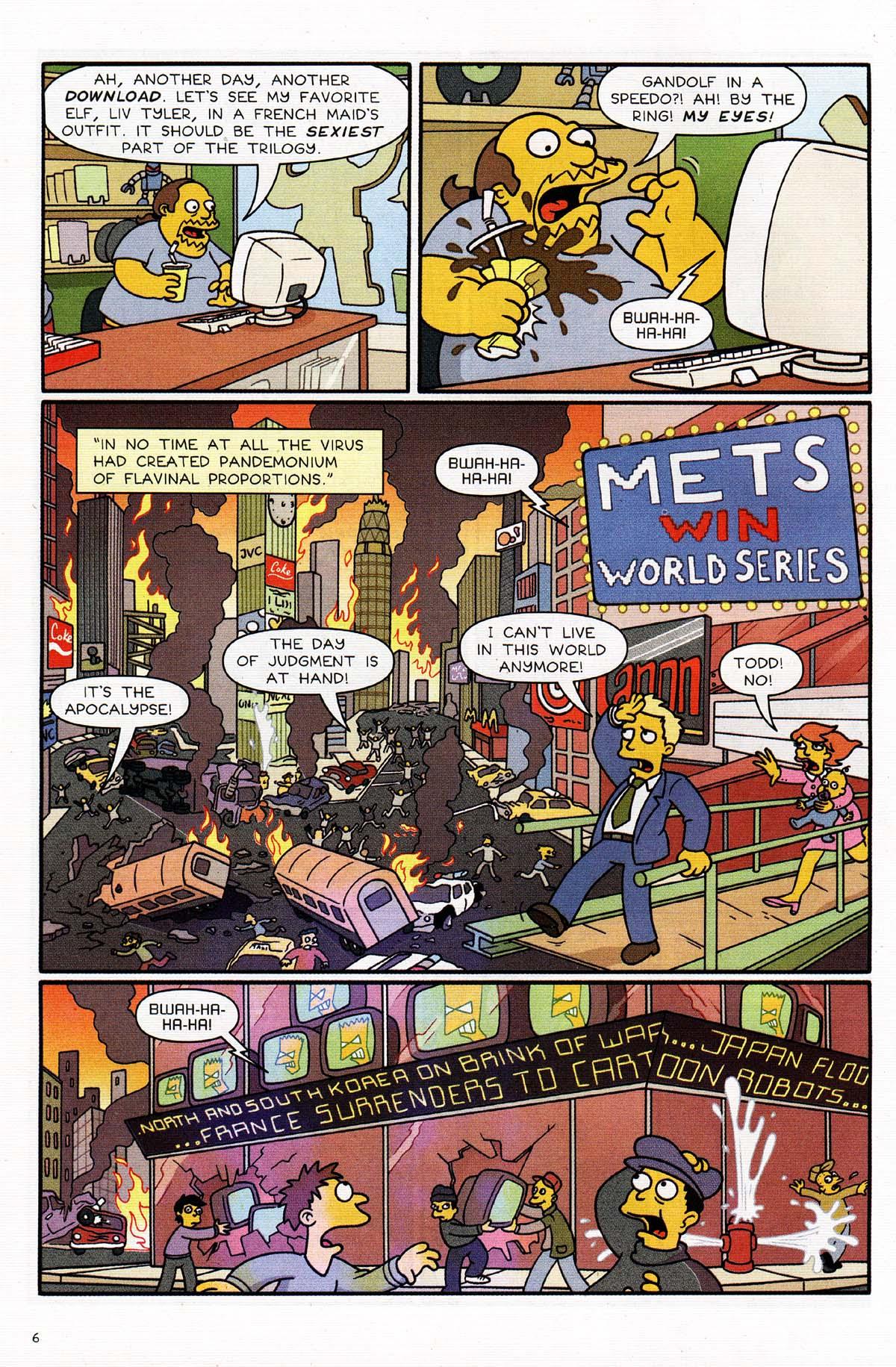 Read online Simpsons Comics Presents Bart Simpson comic -  Issue #15 - 8
