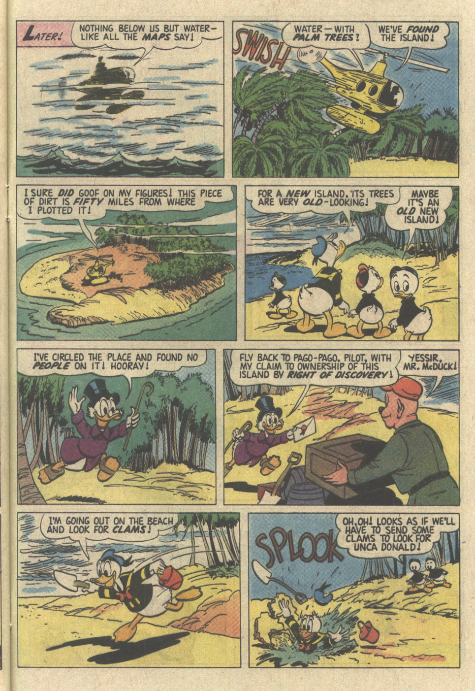 Read online Uncle Scrooge (1953) comic -  Issue #239 - 29