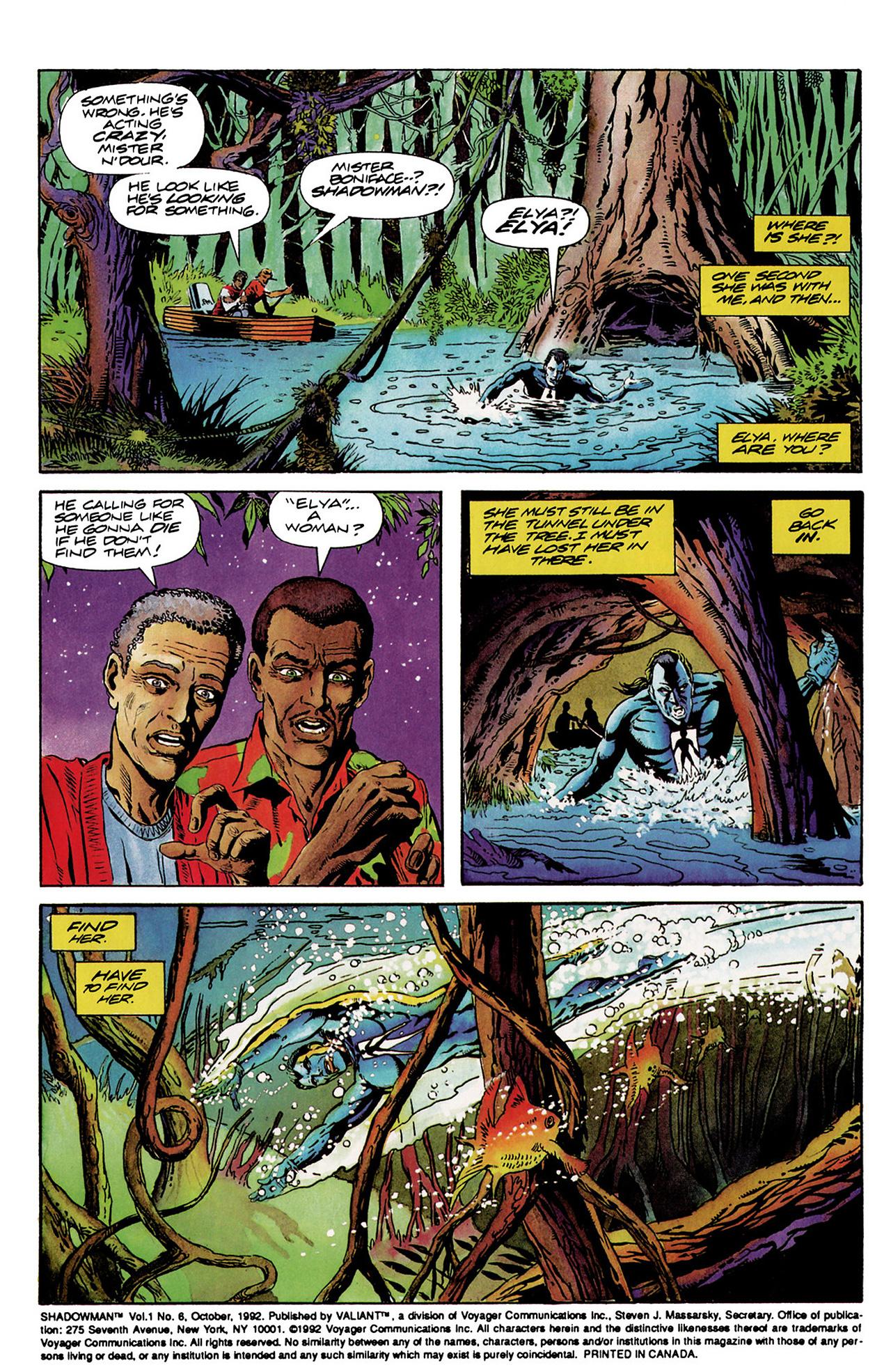 Read online Shadowman (1992) comic -  Issue #6 - 3