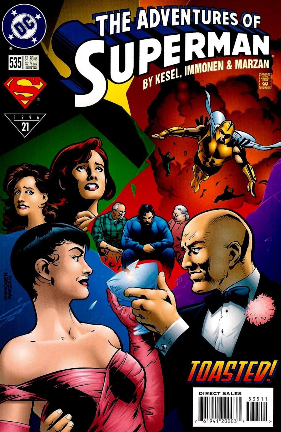 Read online Adventures of Superman (1987) comic -  Issue #535 - 1