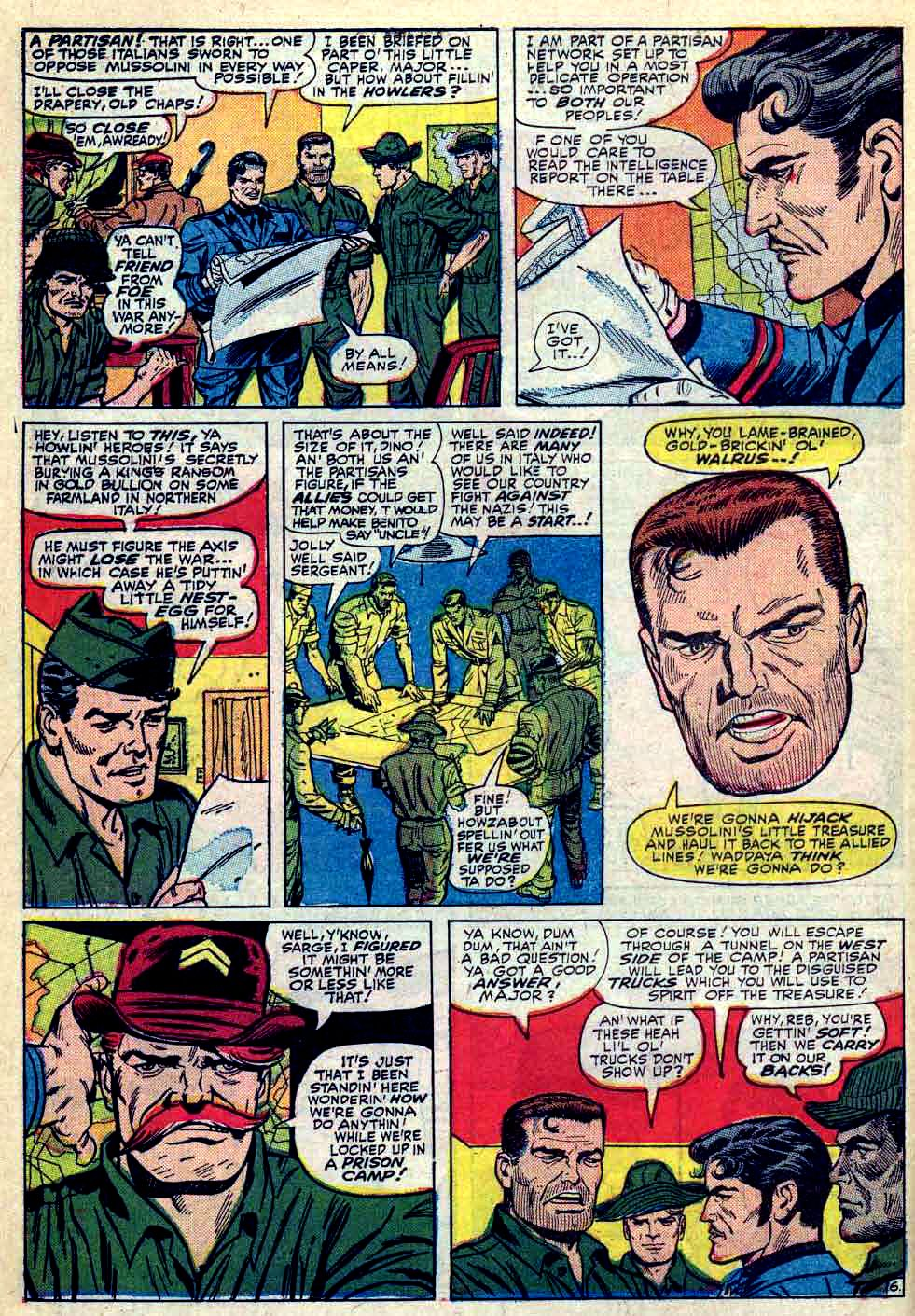 Read online Sgt. Fury comic -  Issue #30 - 10