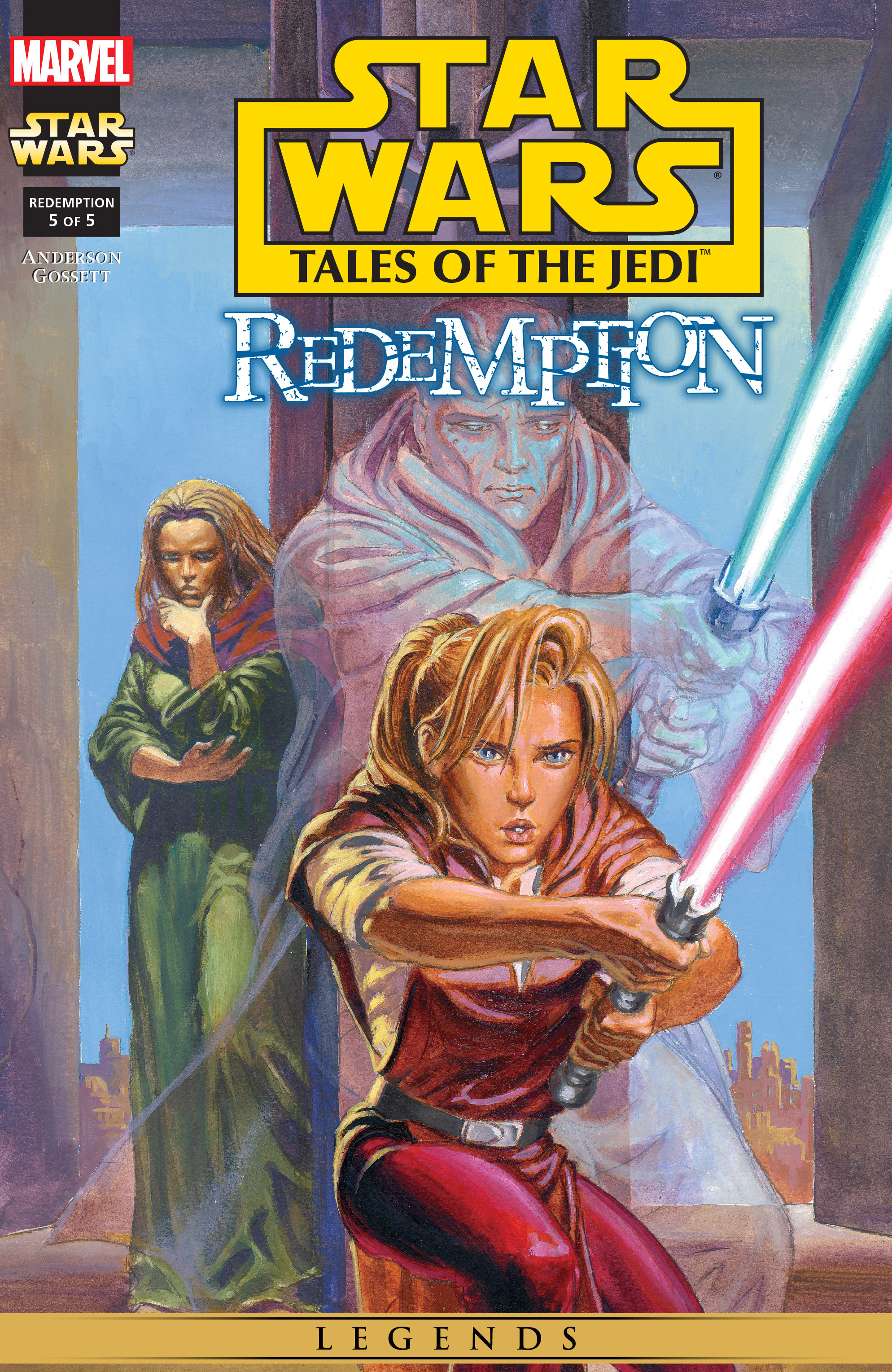 Star Wars: Tales of the Jedi - Redemption 5 Page 1