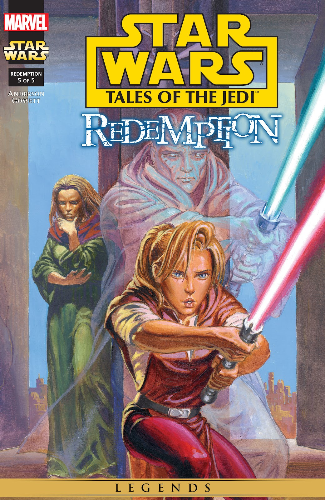 Star Wars: Tales of the Jedi - Redemption issue 5 - Page 1