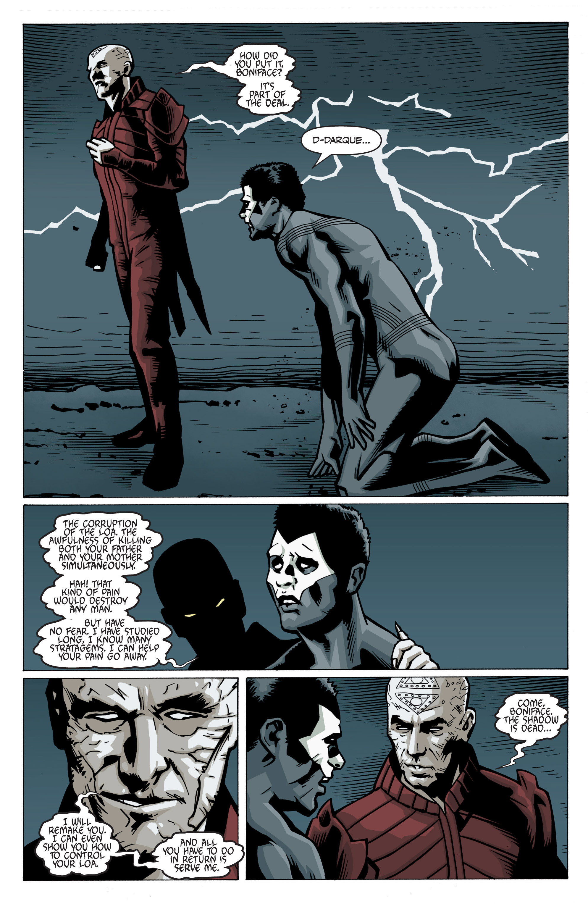 Read online Shadowman: End Times comic -  Issue #3 - 26