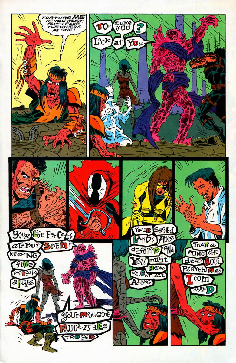 Read online Alpha Flight (1983) comic -  Issue #126 - 8