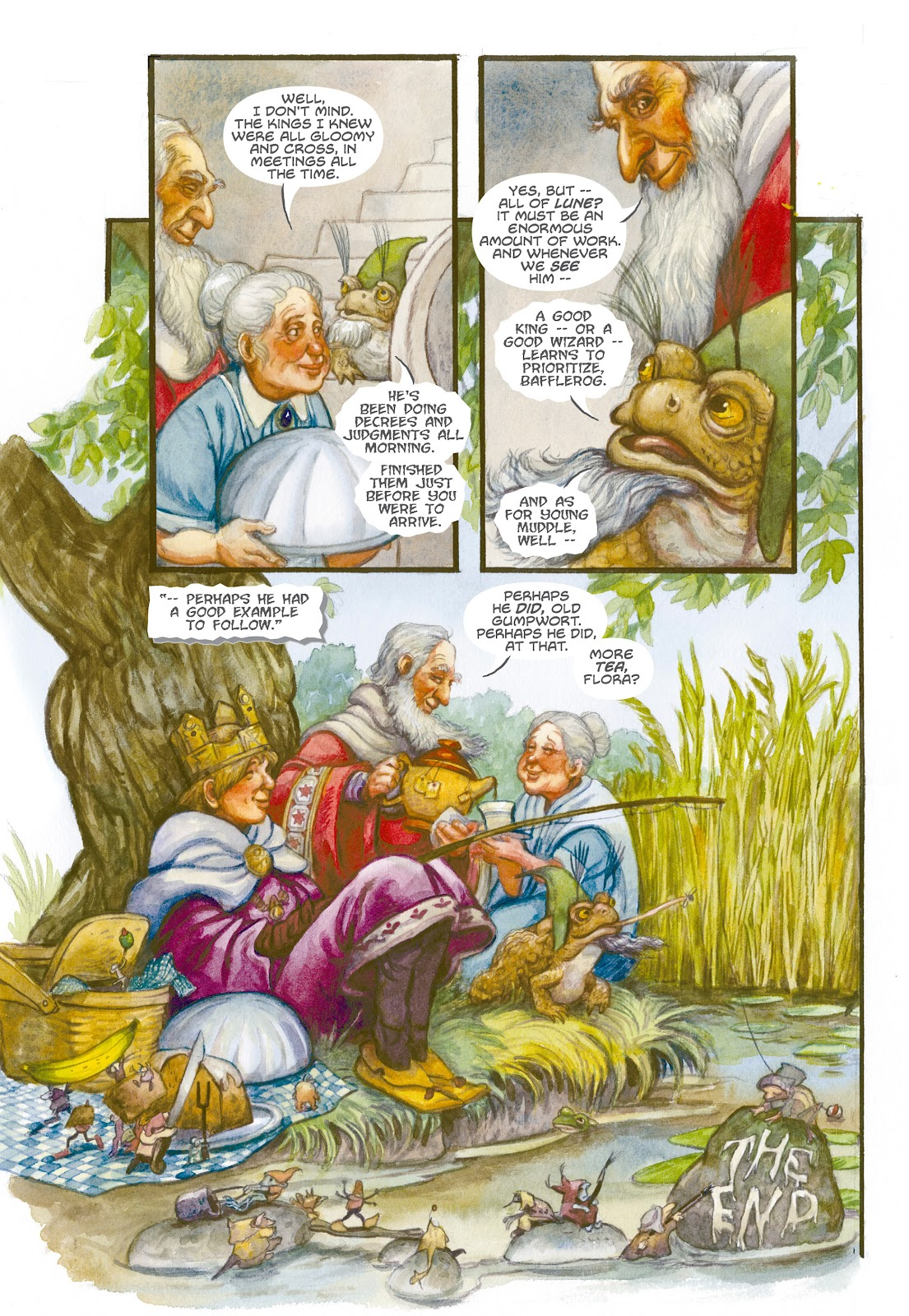 Read online The Wizard's Tale comic -  Issue # TPB - 136
